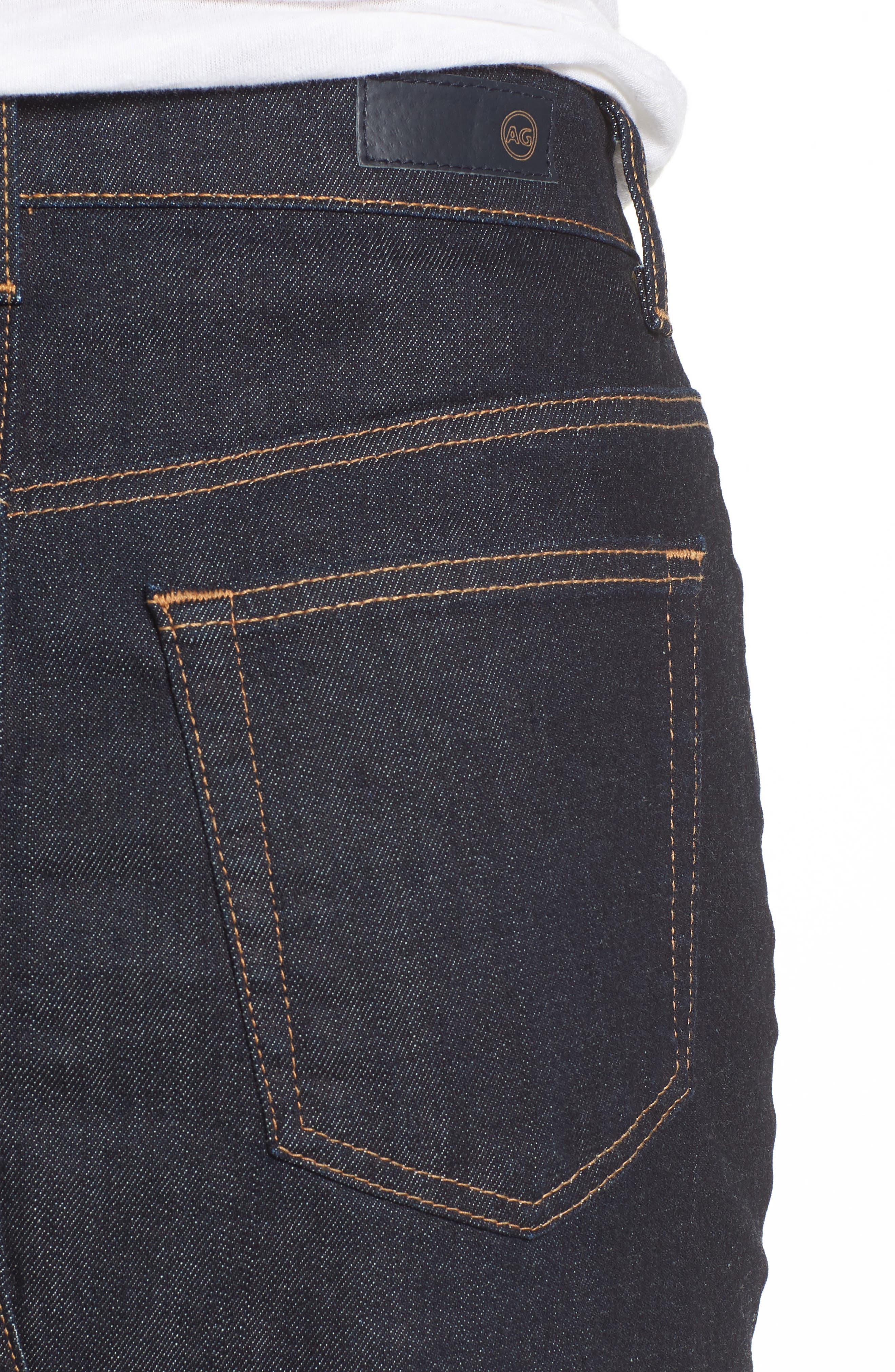 Alternate Image 4  - AG Emery High Waist Denim Skirt