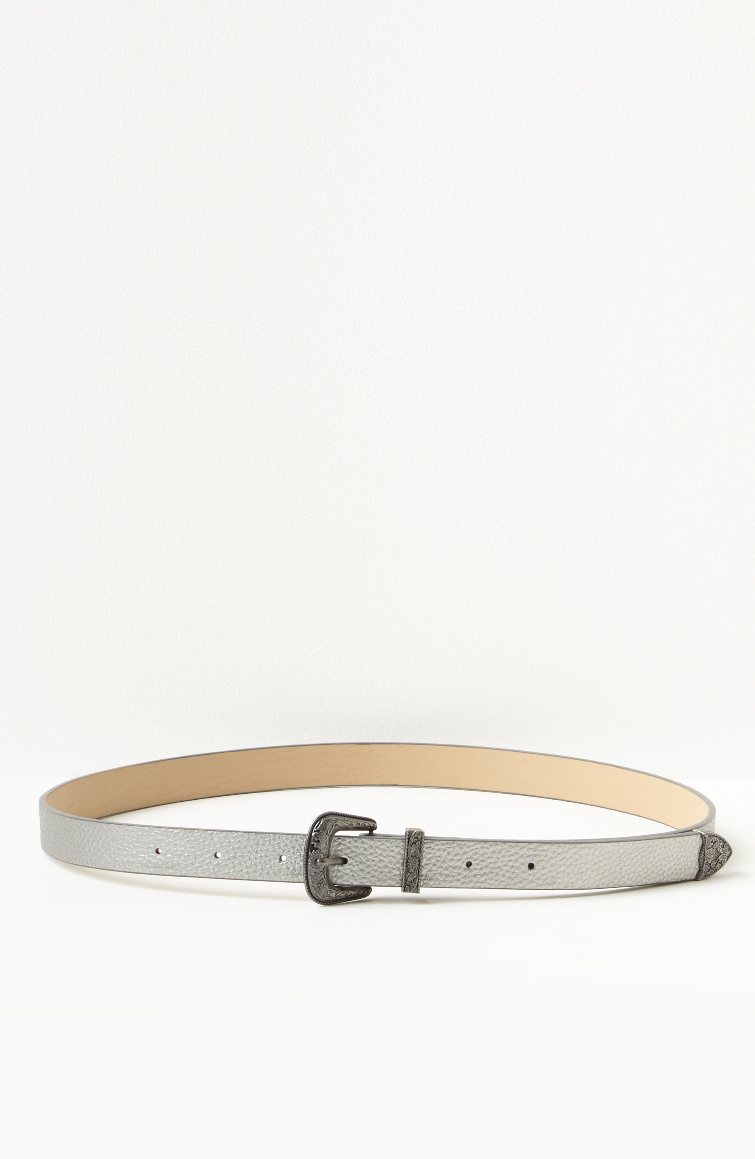Alternate Image 2  - Missguided Western Buckle Faux Leather Belt