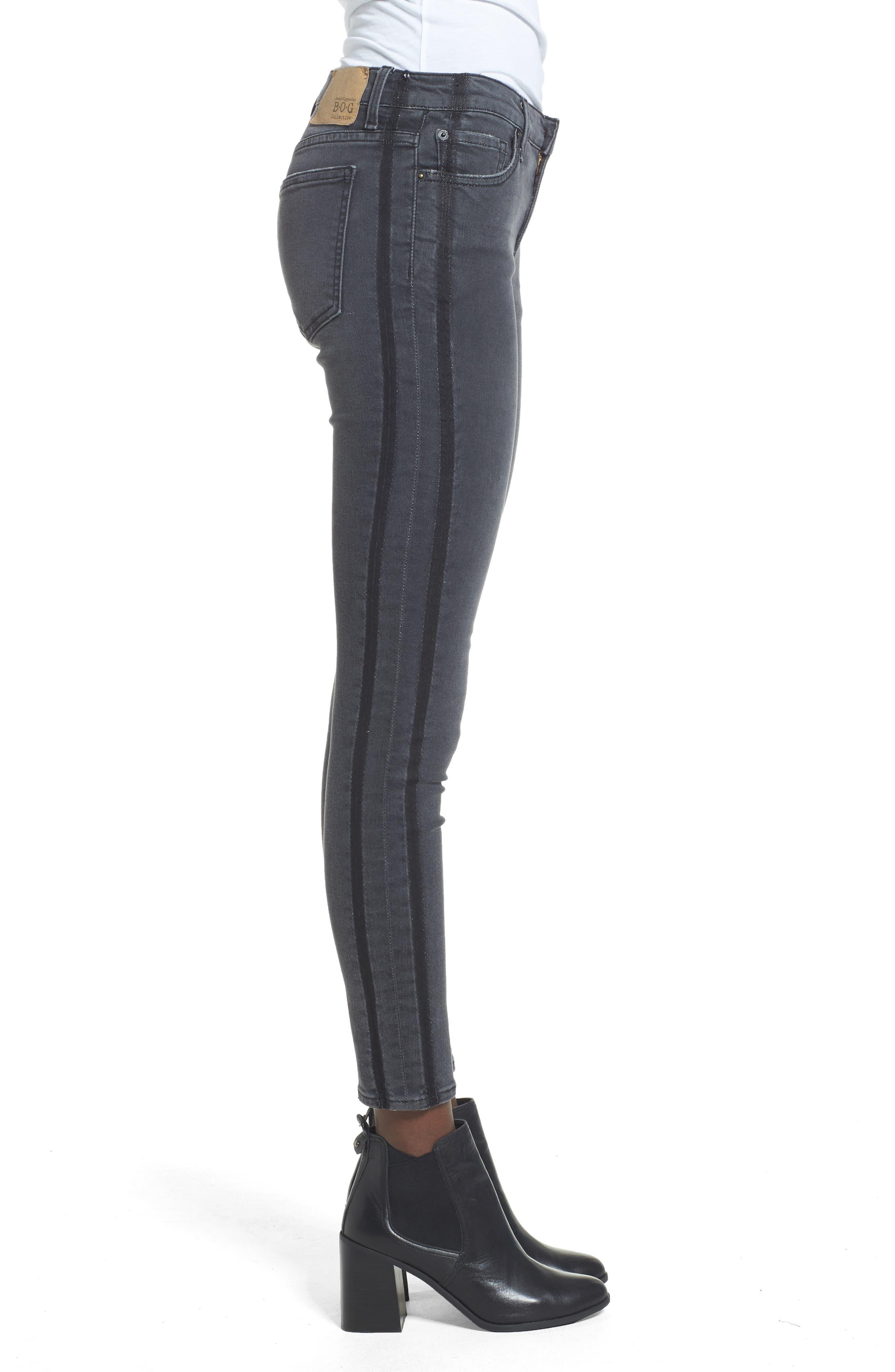 Lola Skinny Jeans,                             Alternate thumbnail 3, color,                             Carlsbad Fest