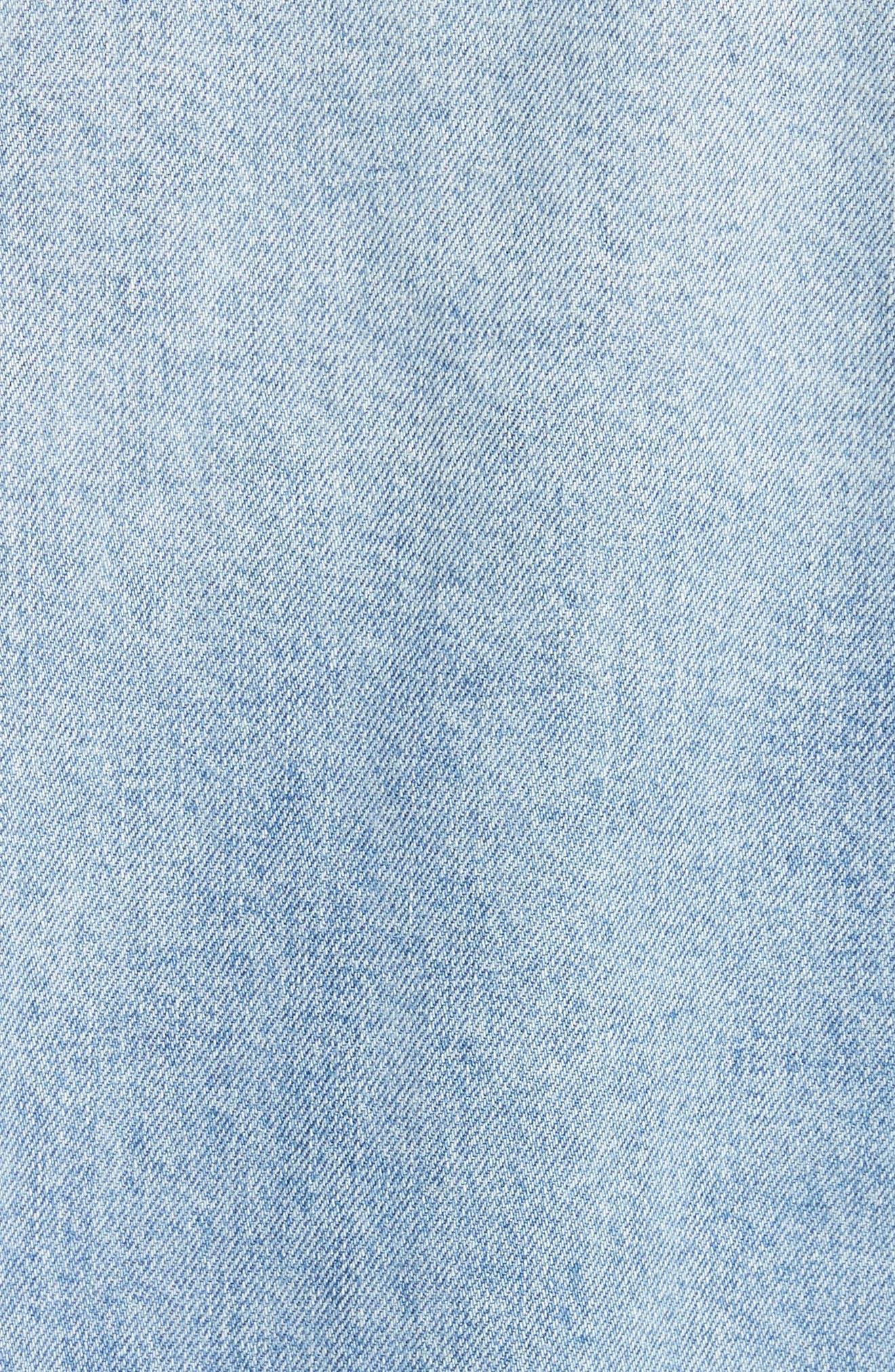 Hendrix Denim Jacket,                             Alternate thumbnail 5, color,                             Blue