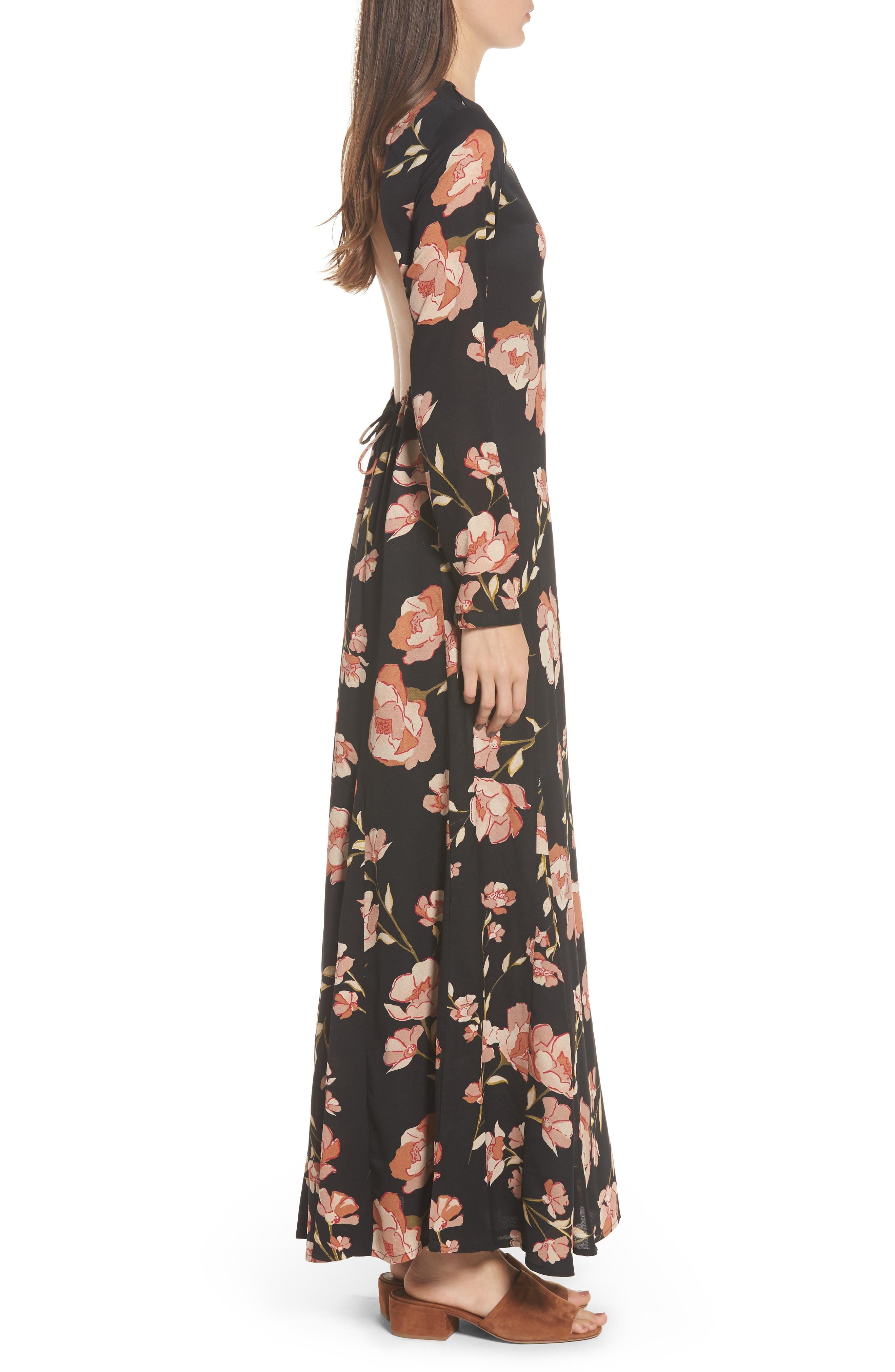 Alternate Image 4  - Love Like Summer x Billabong Floral Print Maxi Dress