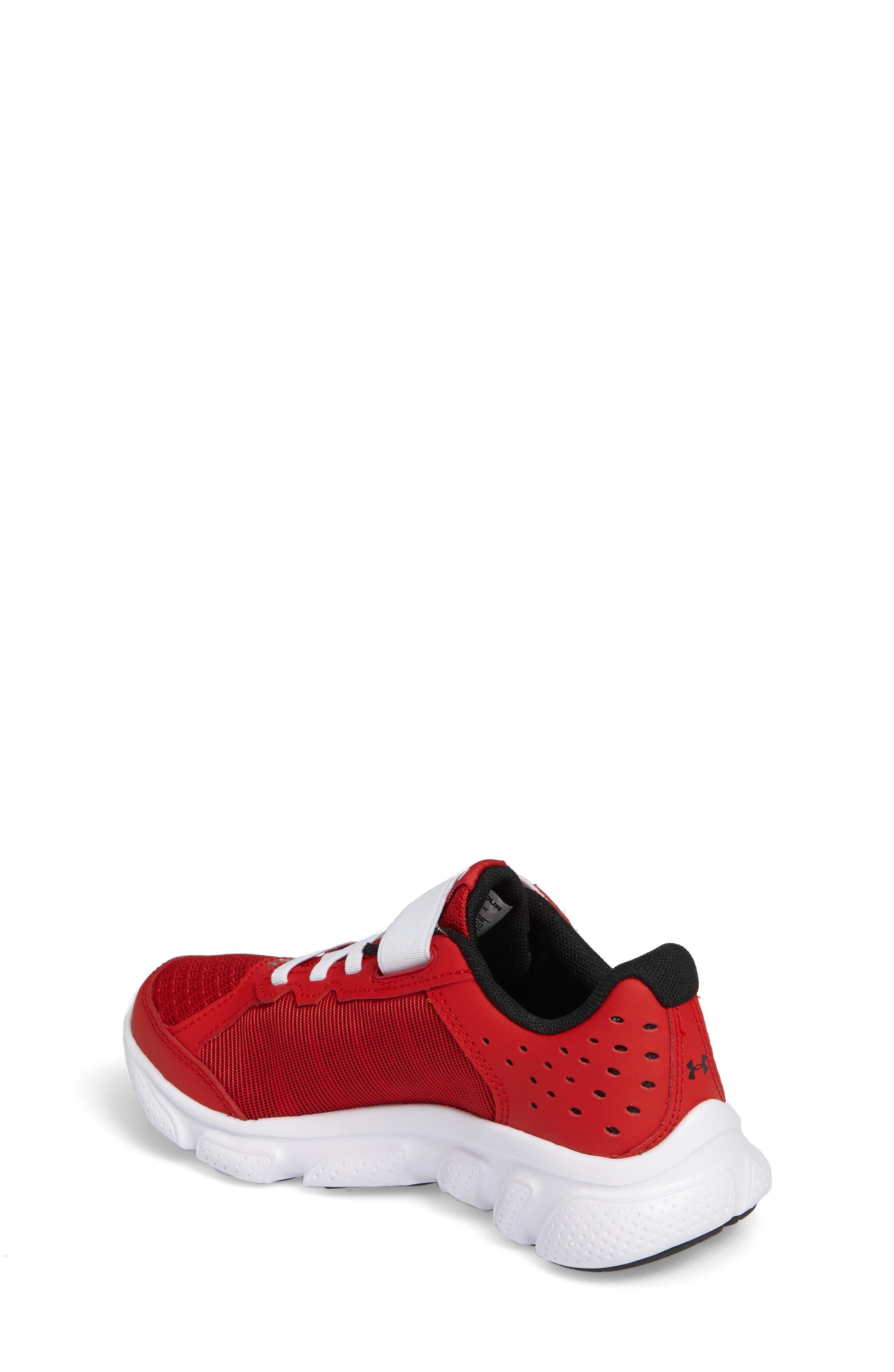 'Micro G<sup>®</sup> Assert VI' Running Shoe,                             Alternate thumbnail 2, color,                             Red/ White/ White
