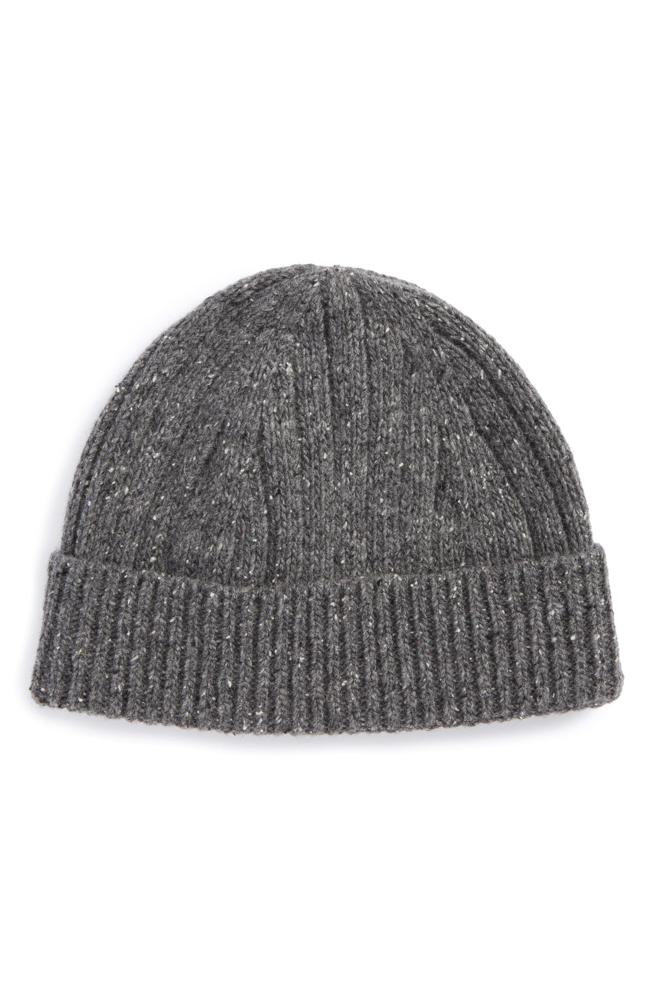 Nordstrom Men's Shop Wool Blend Beanie