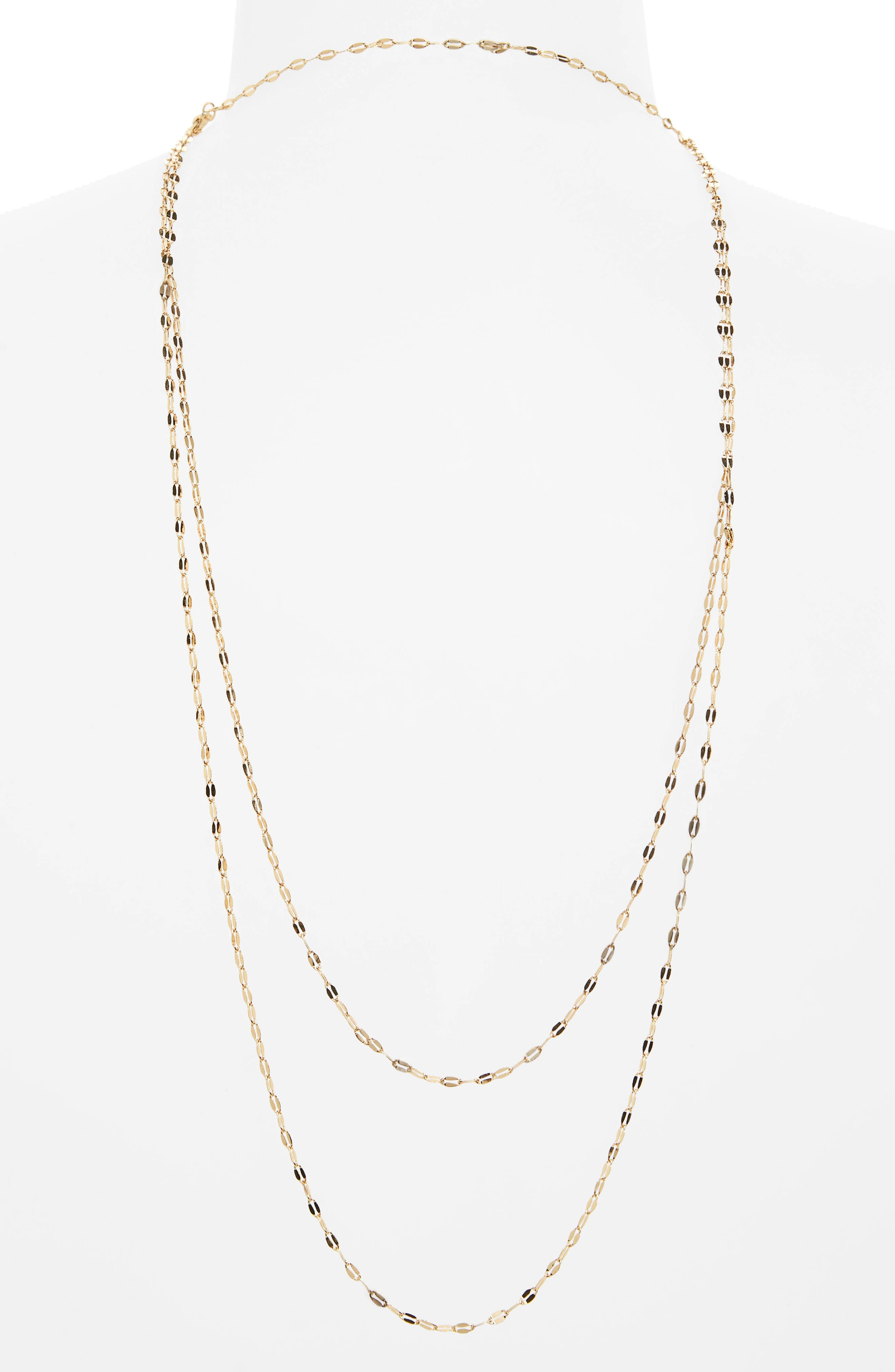 Alternate Image 2  - Topshop Drape Back Choker Necklace