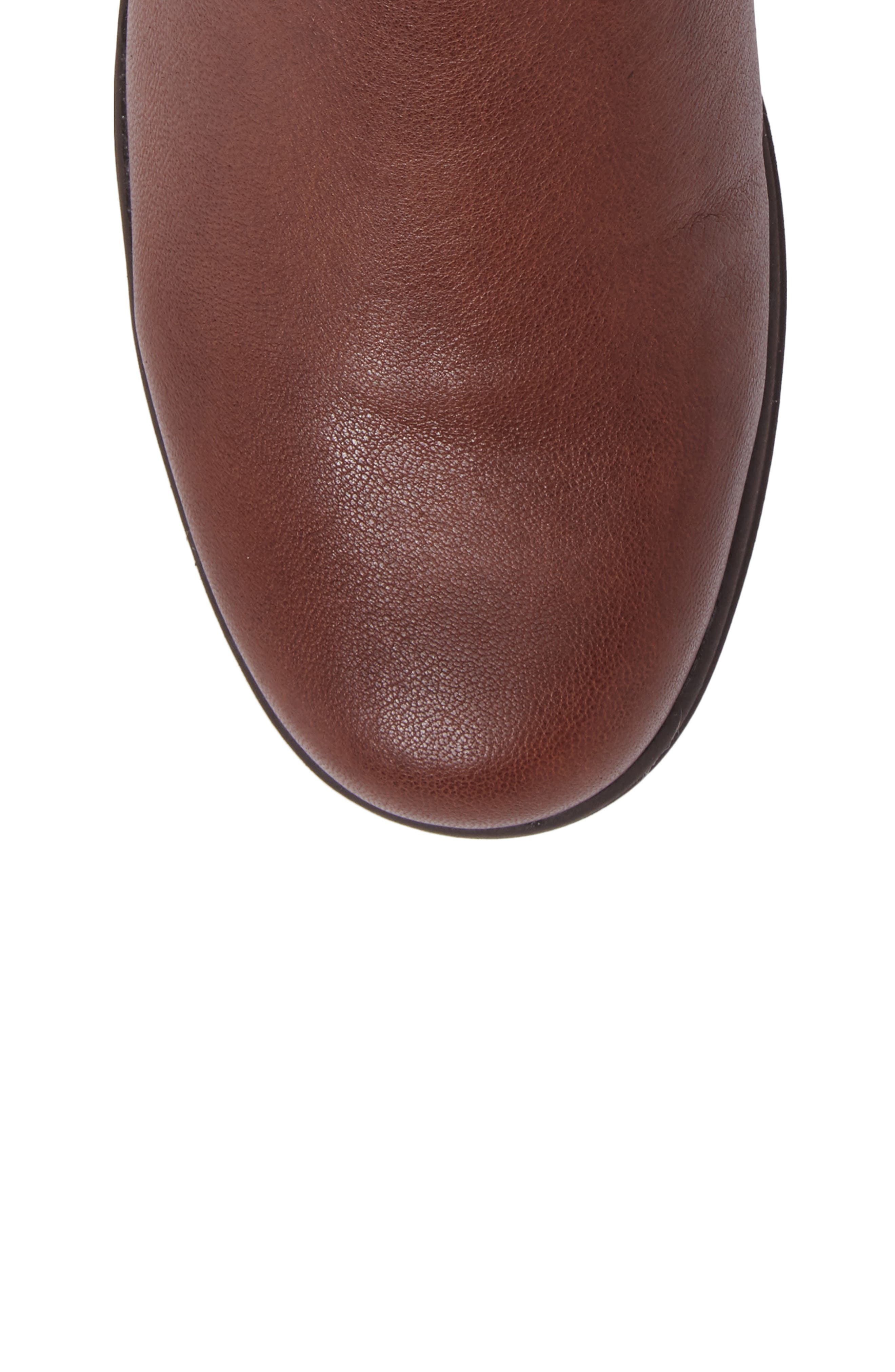 Cactus Bootie,                             Alternate thumbnail 5, color,                             Brown Leather