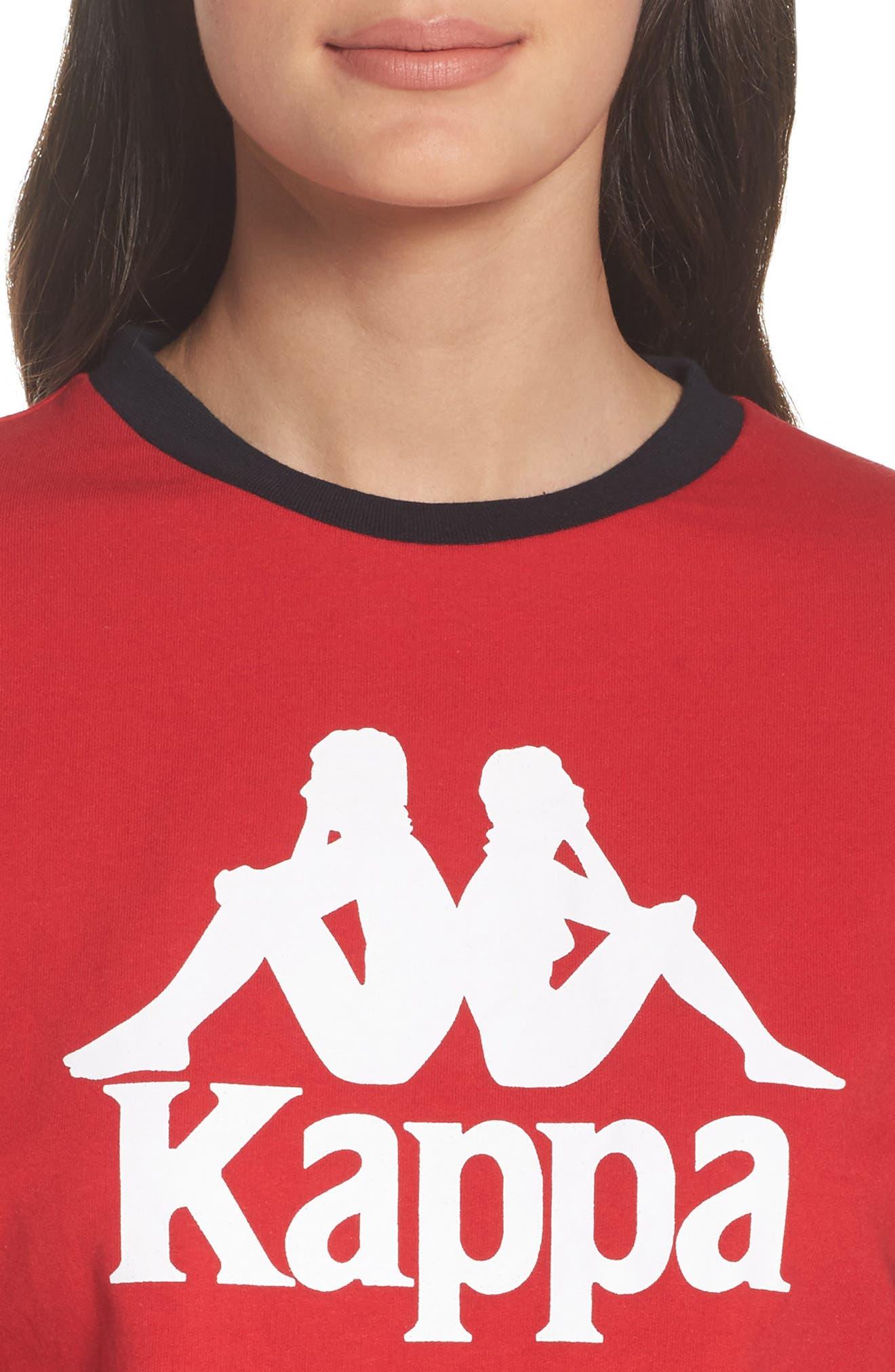 Alternate Image 4  - Kappa Authentic Crop Sweatshirt