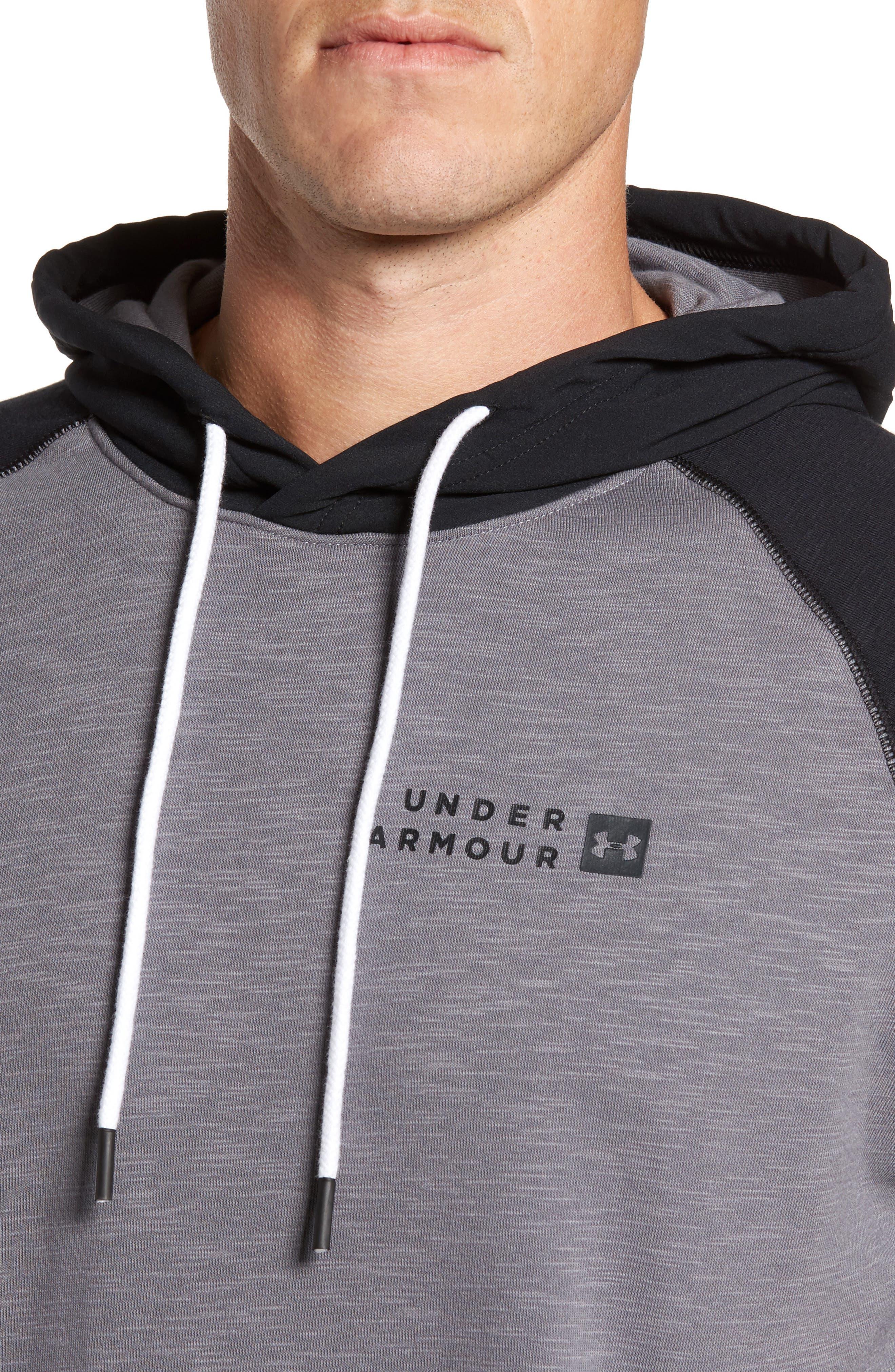 Alternate Image 4  - Under Armour Sportstyle Short Sleeve Hoodie