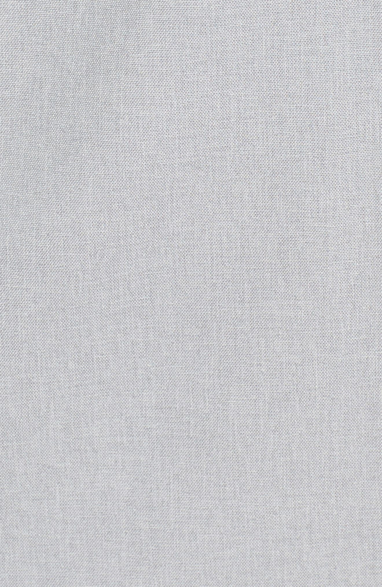 'Kilowatt' Hooded Jacket,                             Alternate thumbnail 5, color,                             Tnf Light Grey Heather