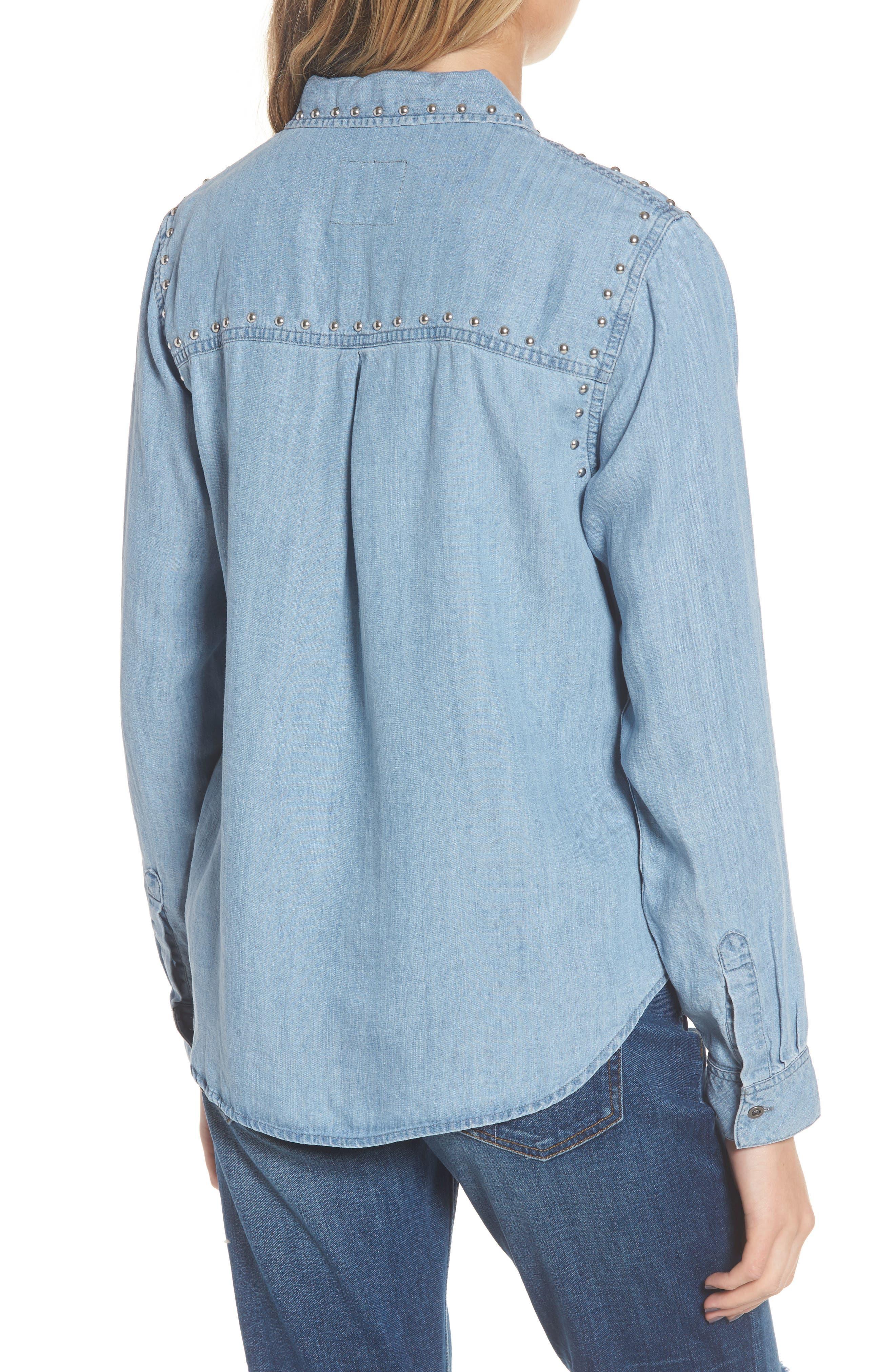Alternate Image 3  - Rails Ingrid Studded Shirt