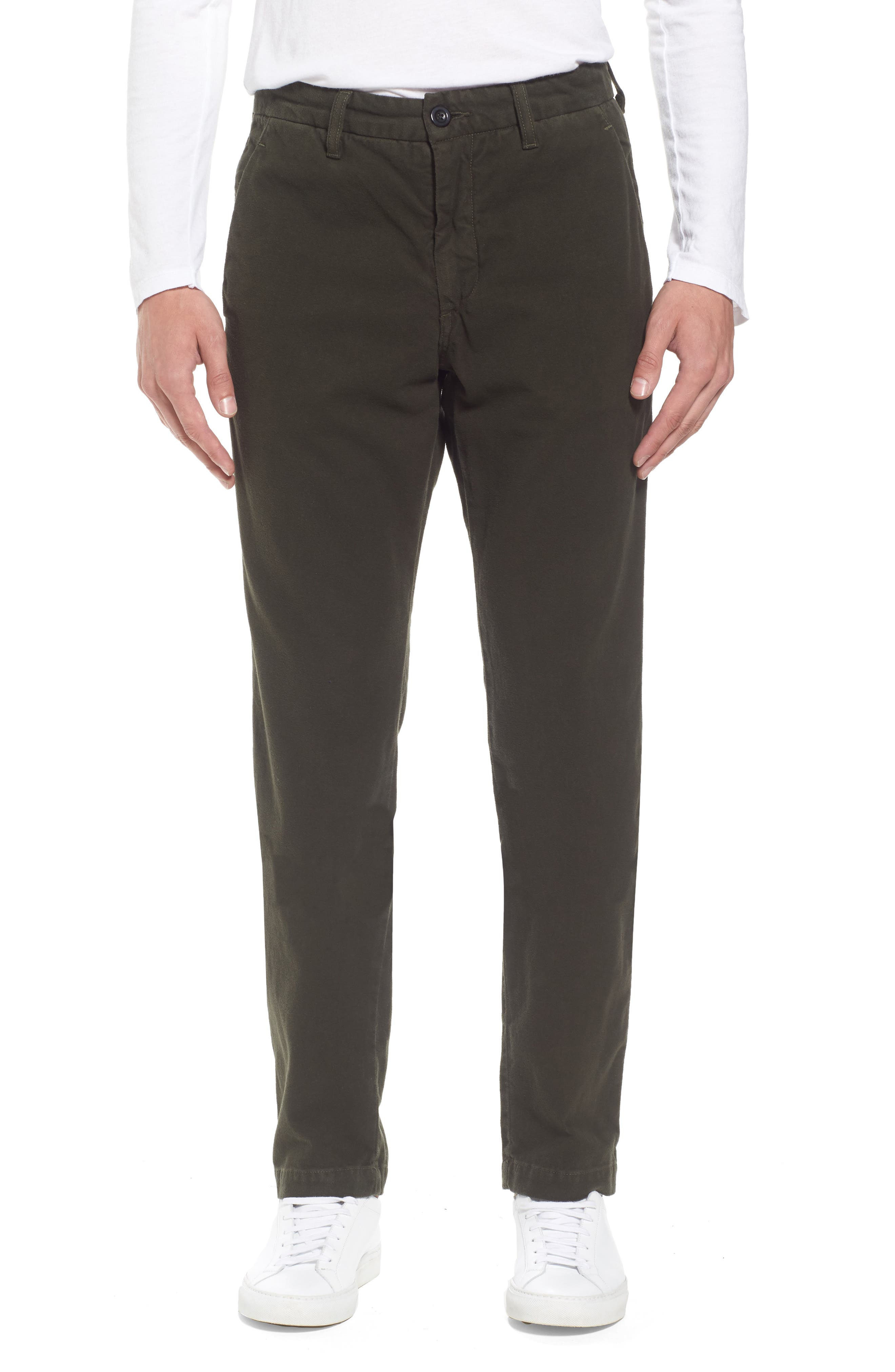 Slim Fit Trousers,                             Main thumbnail 1, color,                             Forest