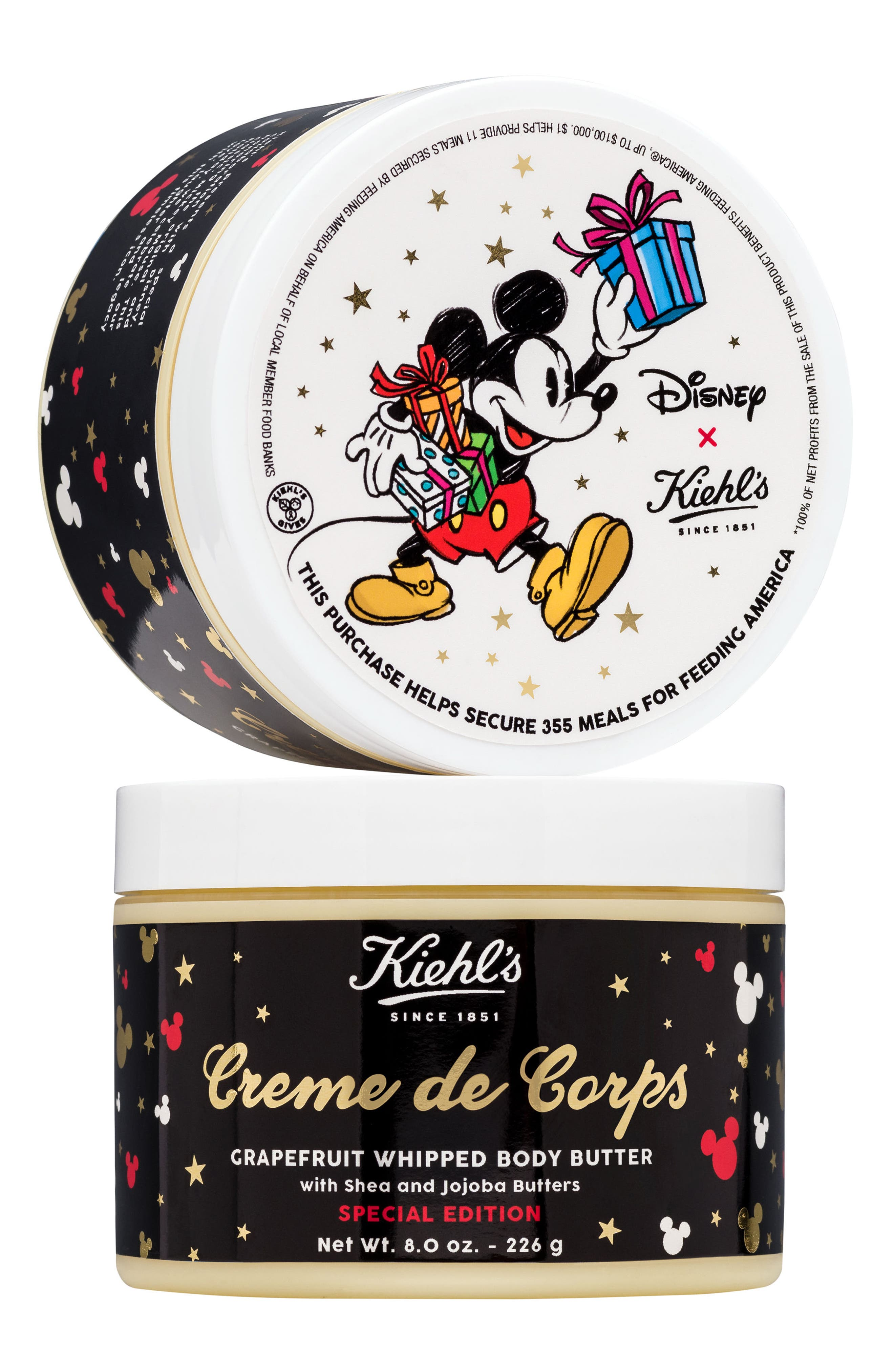 Disney x Kiehl's Since 1851 Creme de Corps Grapefruit Whipped Body Butter