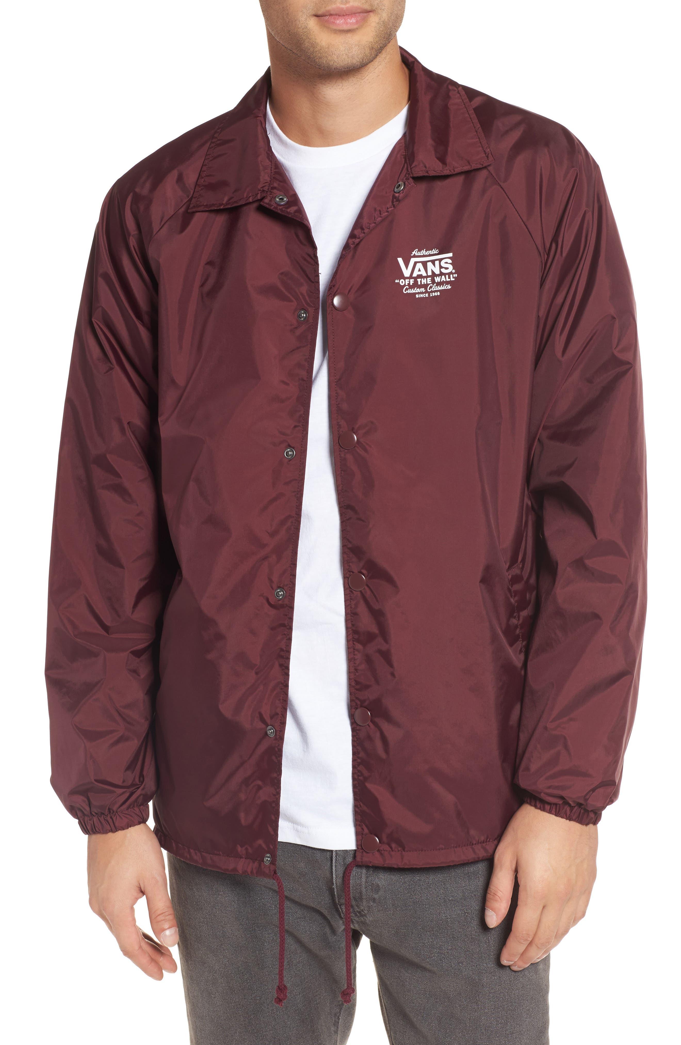 Torrey Water Resistant Jacket,                         Main,                         color, Port Royale/ White