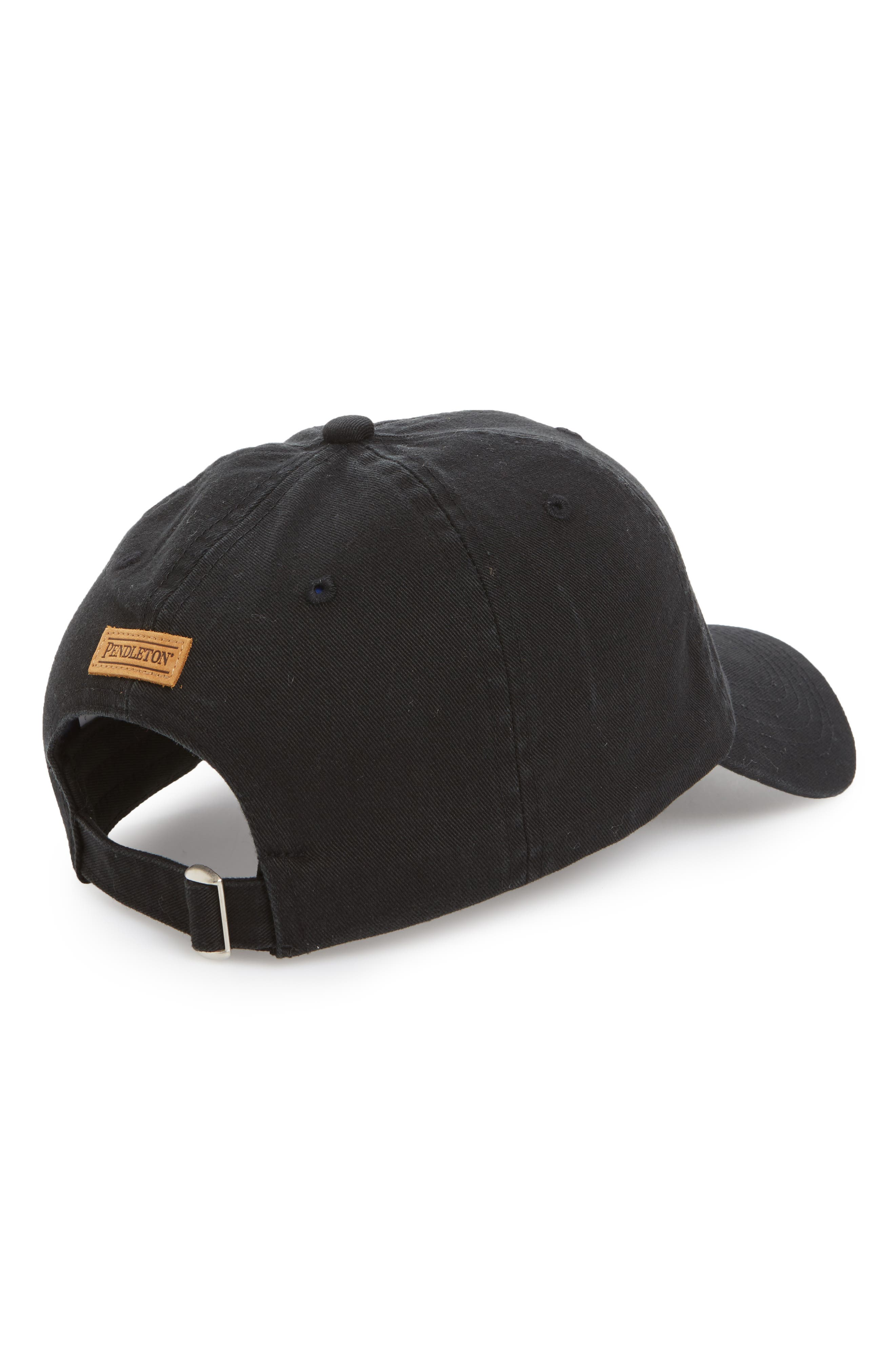 Embroidered Ball Cap,                             Alternate thumbnail 2, color,                             Chief Jo Black