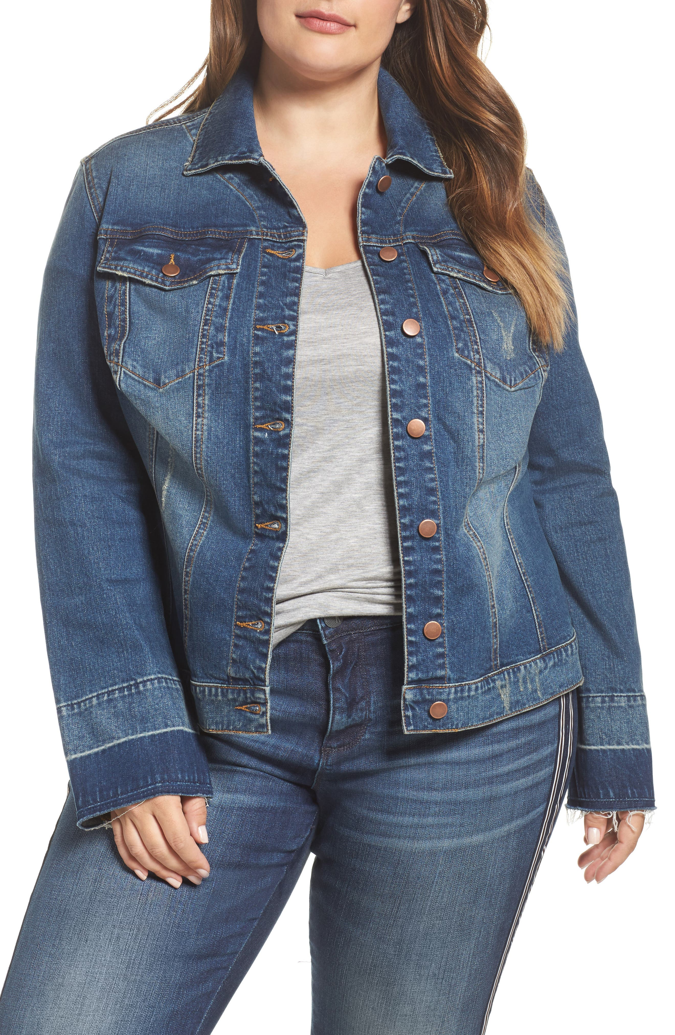 Kut from the Kloth Lily Bell Jacket (Plus Size)