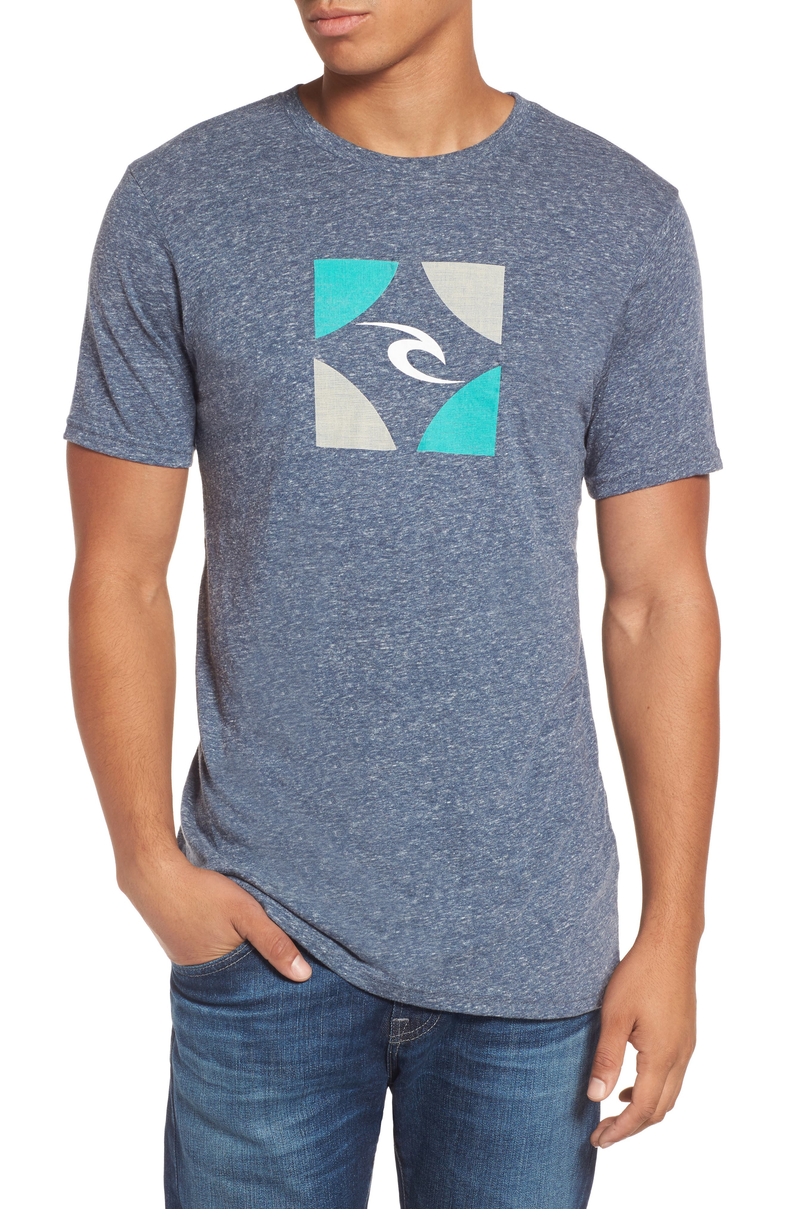 Rip Curl Boxed Logo Graphic T-Shirt