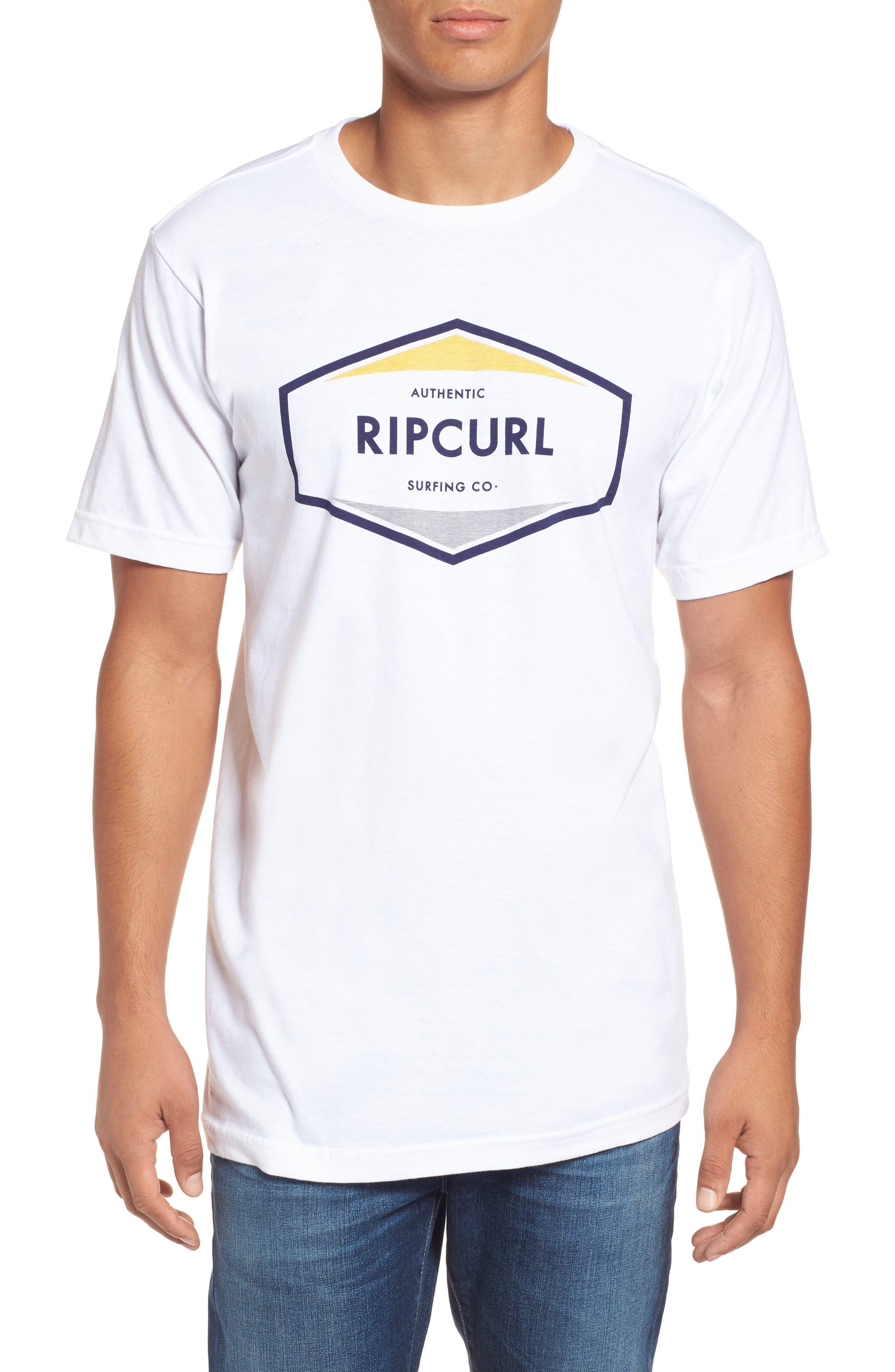 Rip Curl Upper Ground Classic Logo Graphic T-Shirt