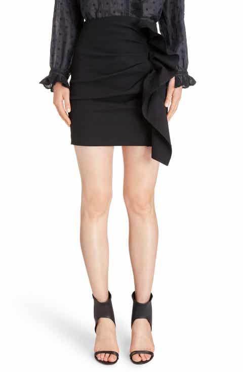 Isabel Marant Lefly Ruffle Miniskirt Cheap