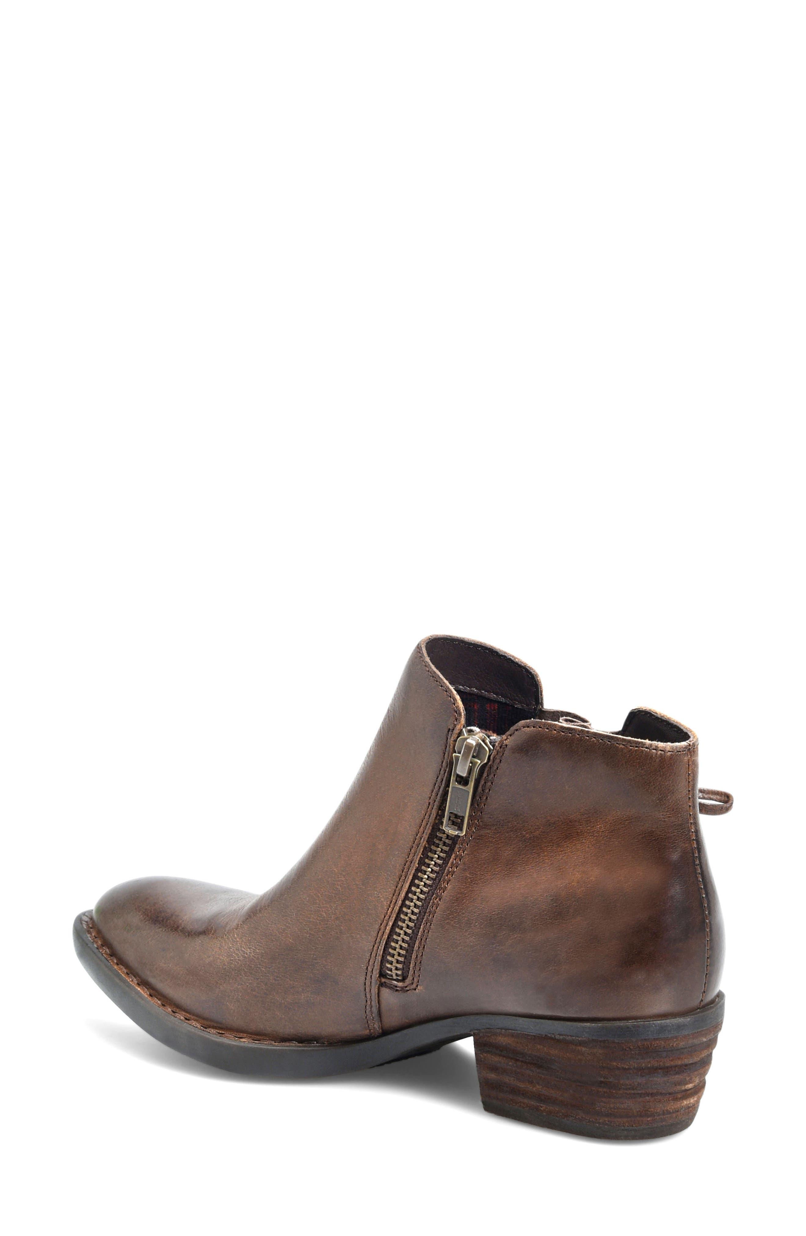 Bowlen Bootie,                             Alternate thumbnail 2, color,                             Brown Leather