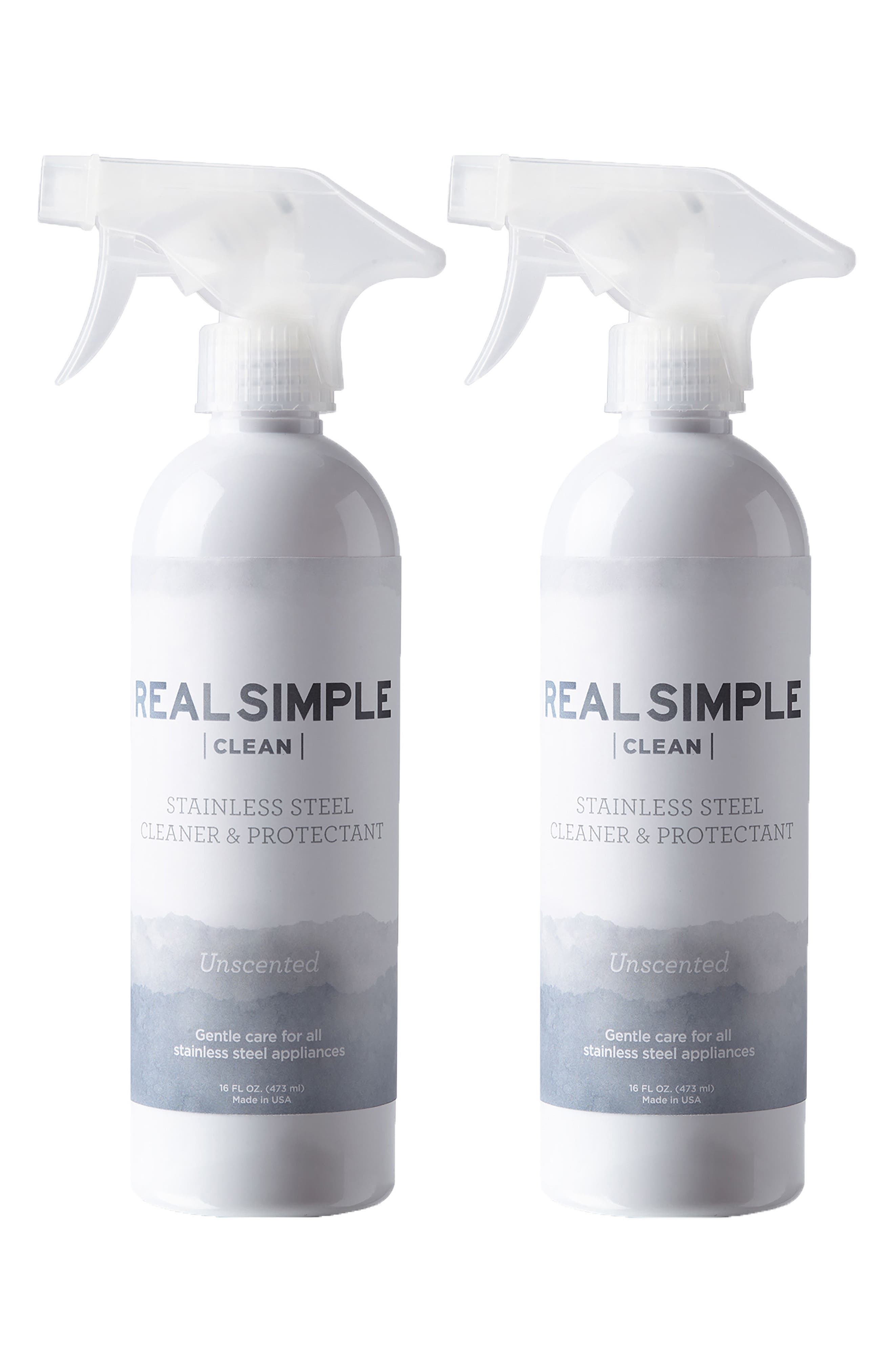 Main Image - Real Simple 2-Pack Stainless Steel Cleaner