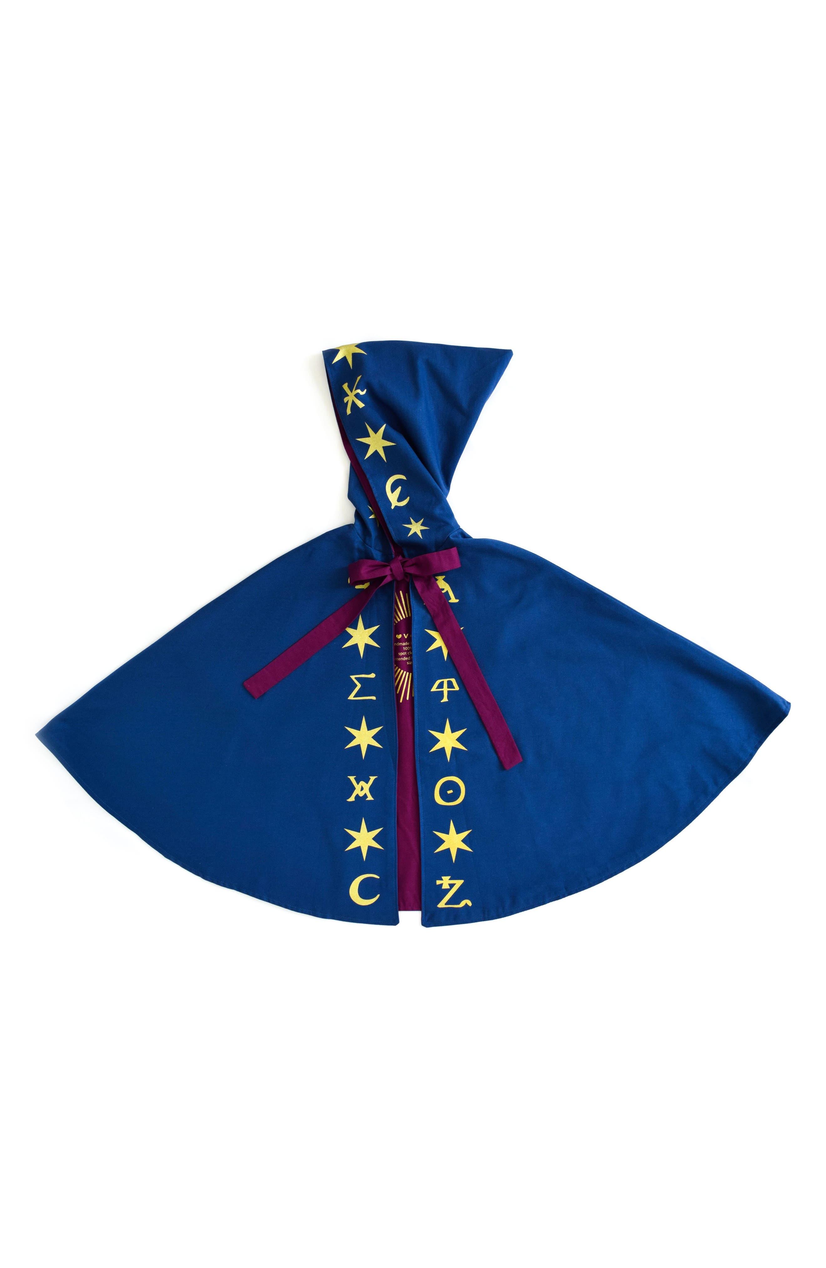 Wizard Cloak,                         Main,                         color, Navy