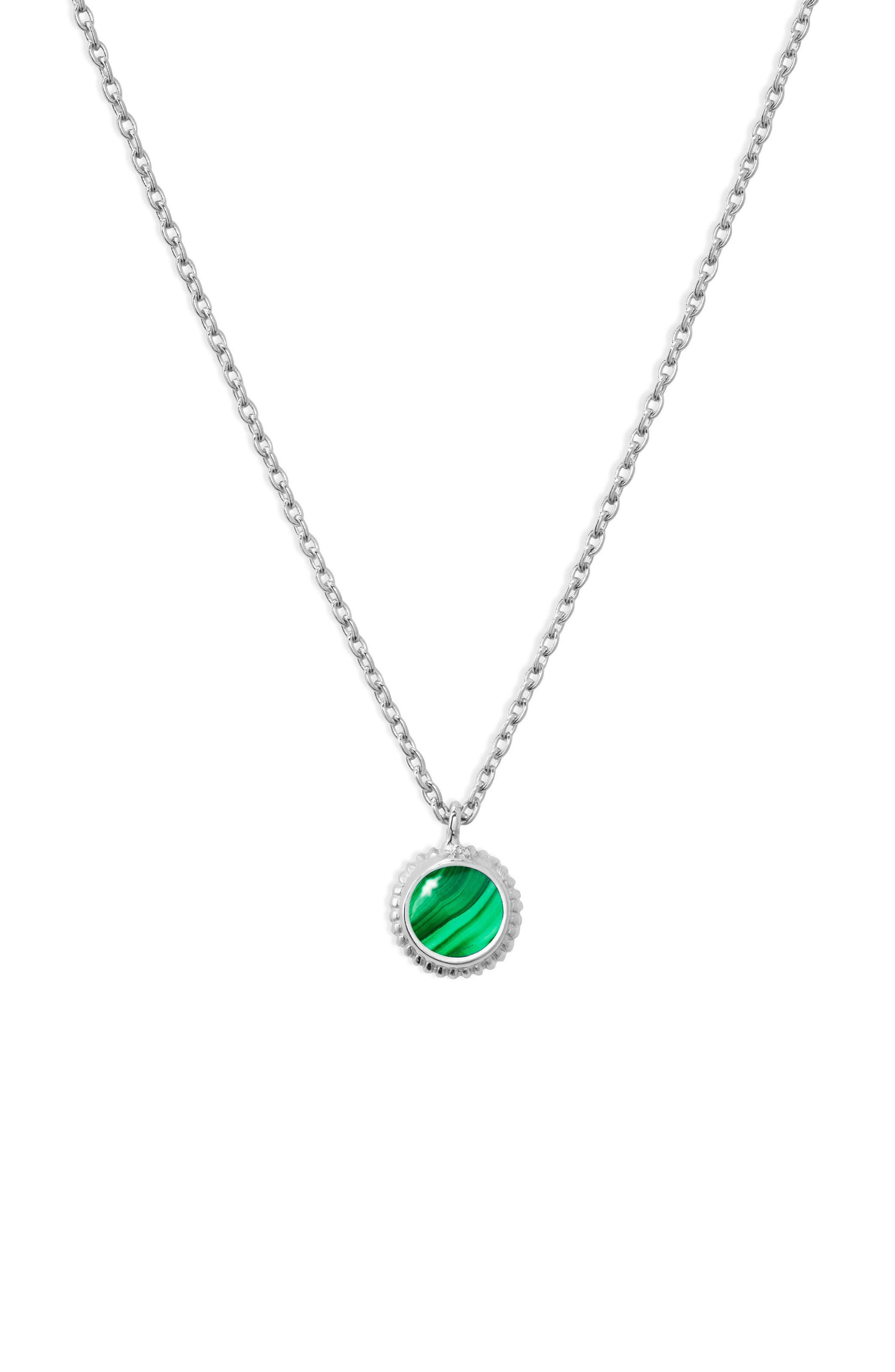 Alternate Image 1 Selected - Shinola Semiprecious Stone Pendant Necklace