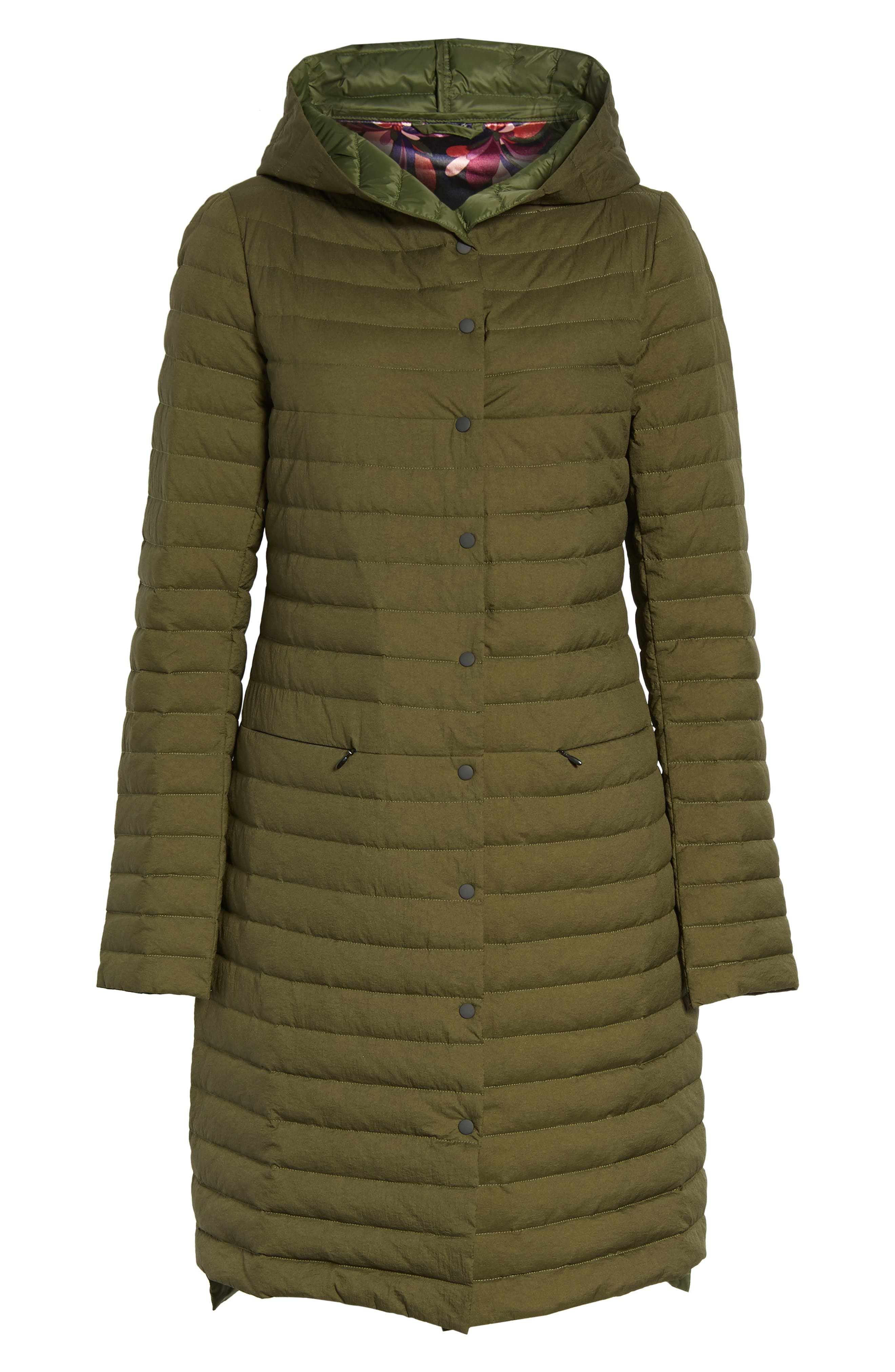 Alternate Image 6  - Trina Turk Edith Hooded Long Coat