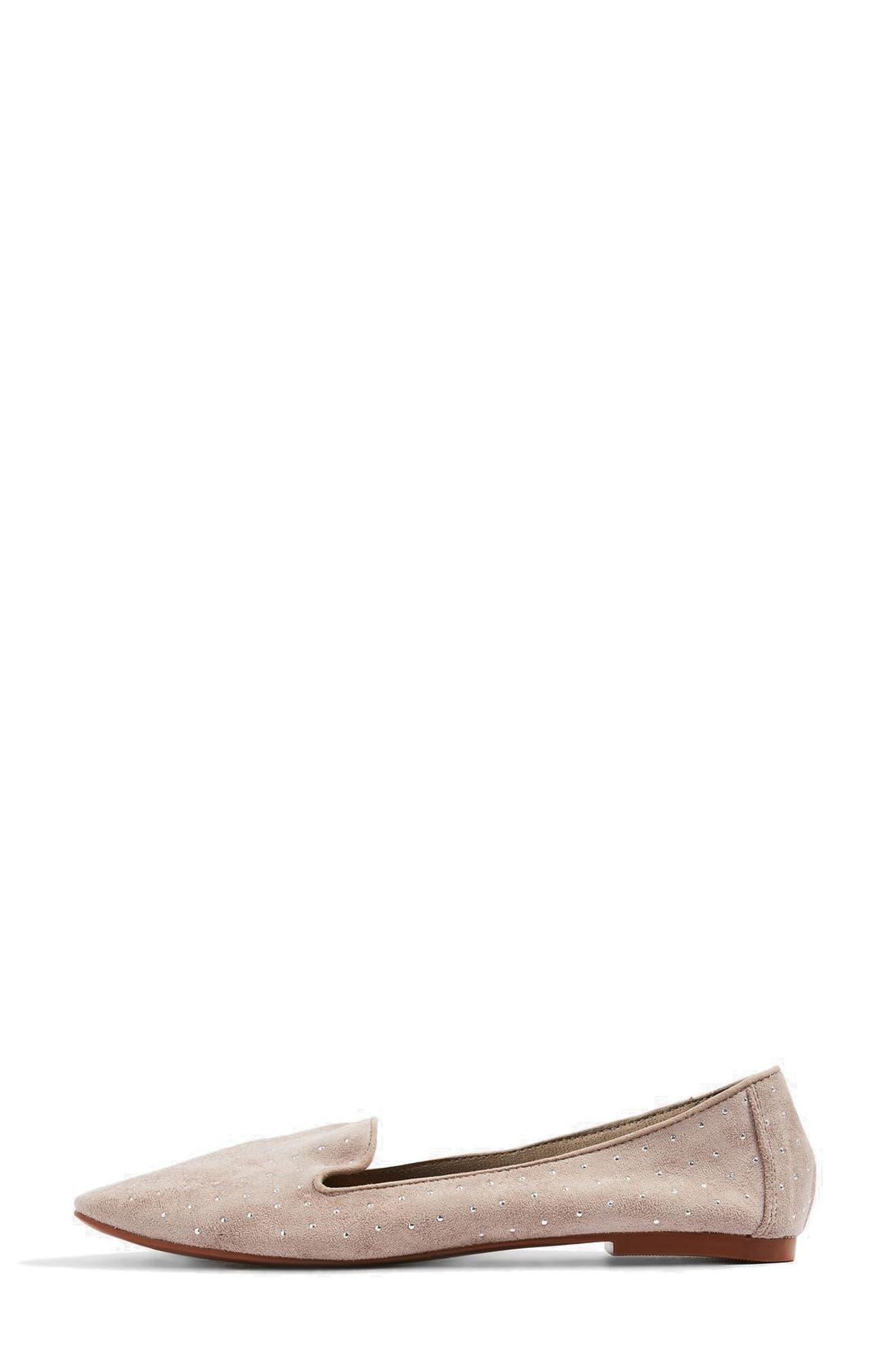 Alternate Image 8  - Topshop Sophie Studded Slip-On Loafers
