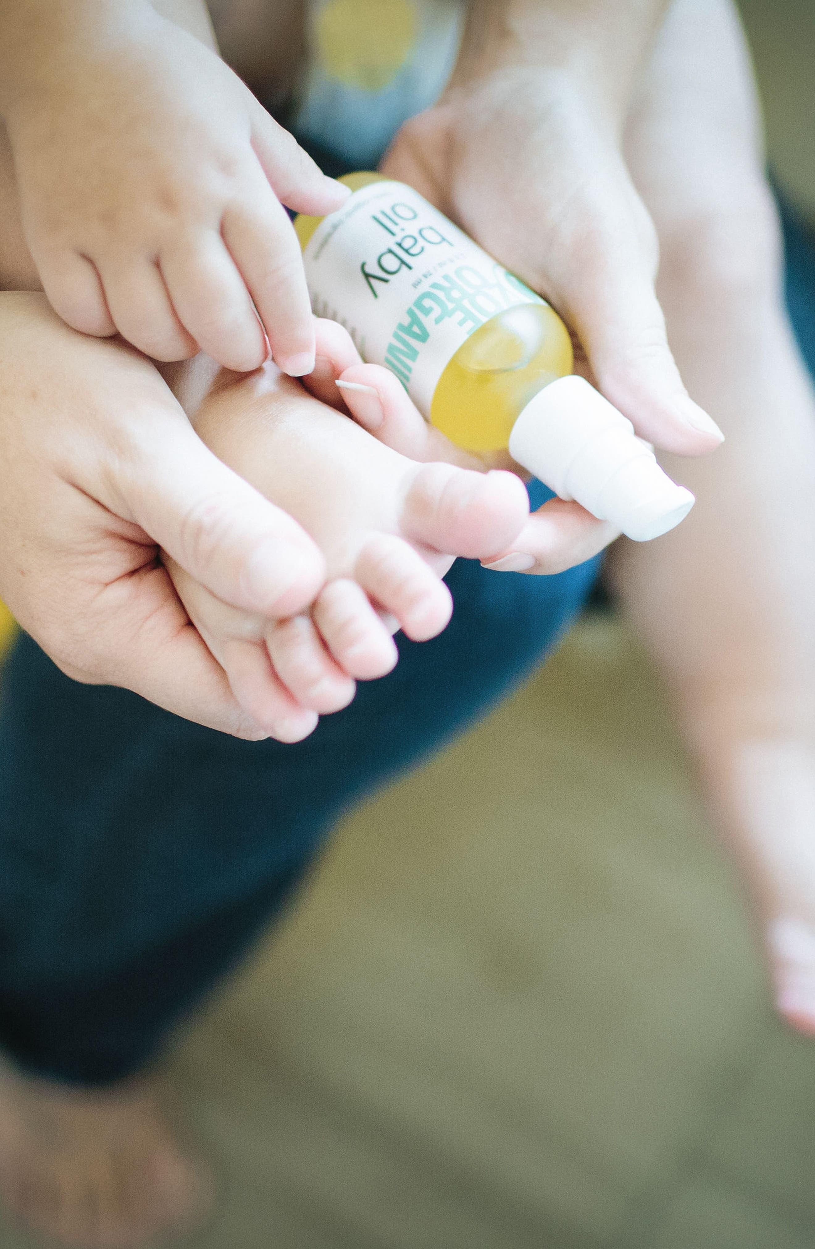 Baby Oil,                             Alternate thumbnail 6, color,                             White