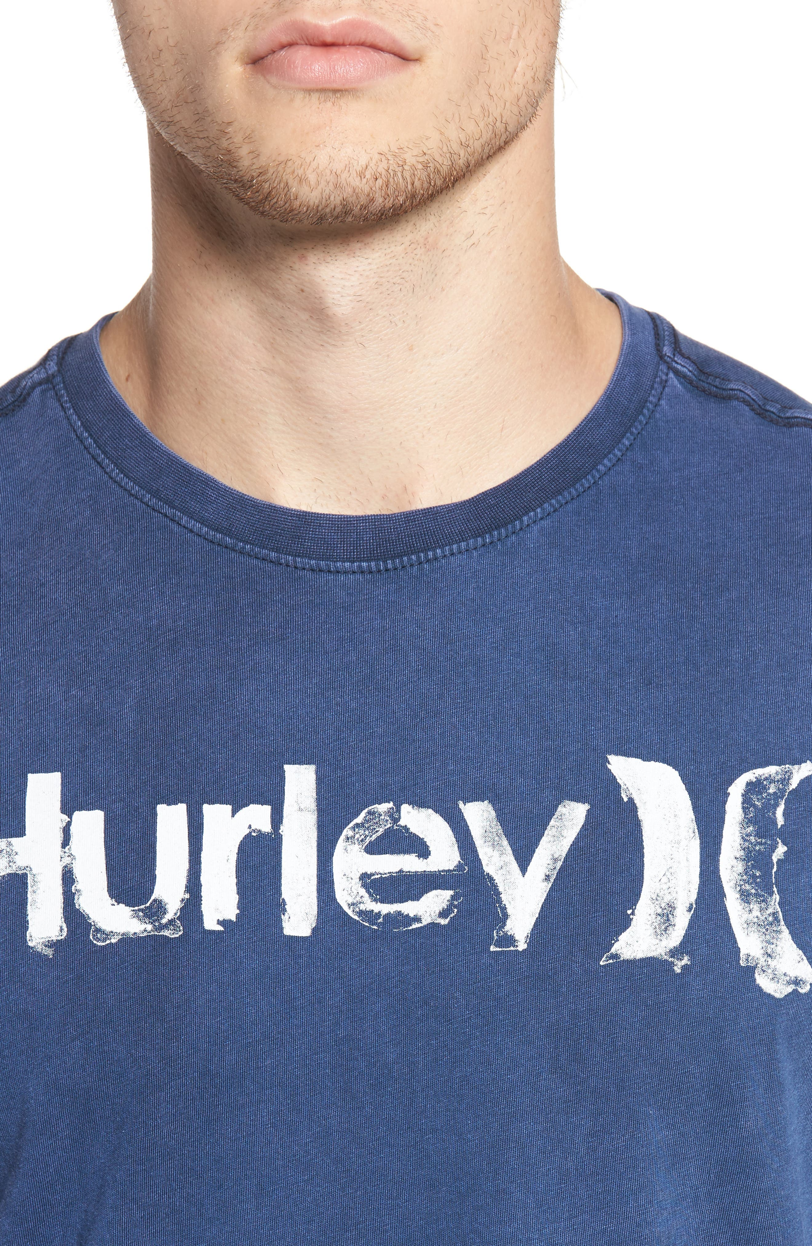Alternate Image 4  - Hurley One and Only Acid Wash T-Shirt