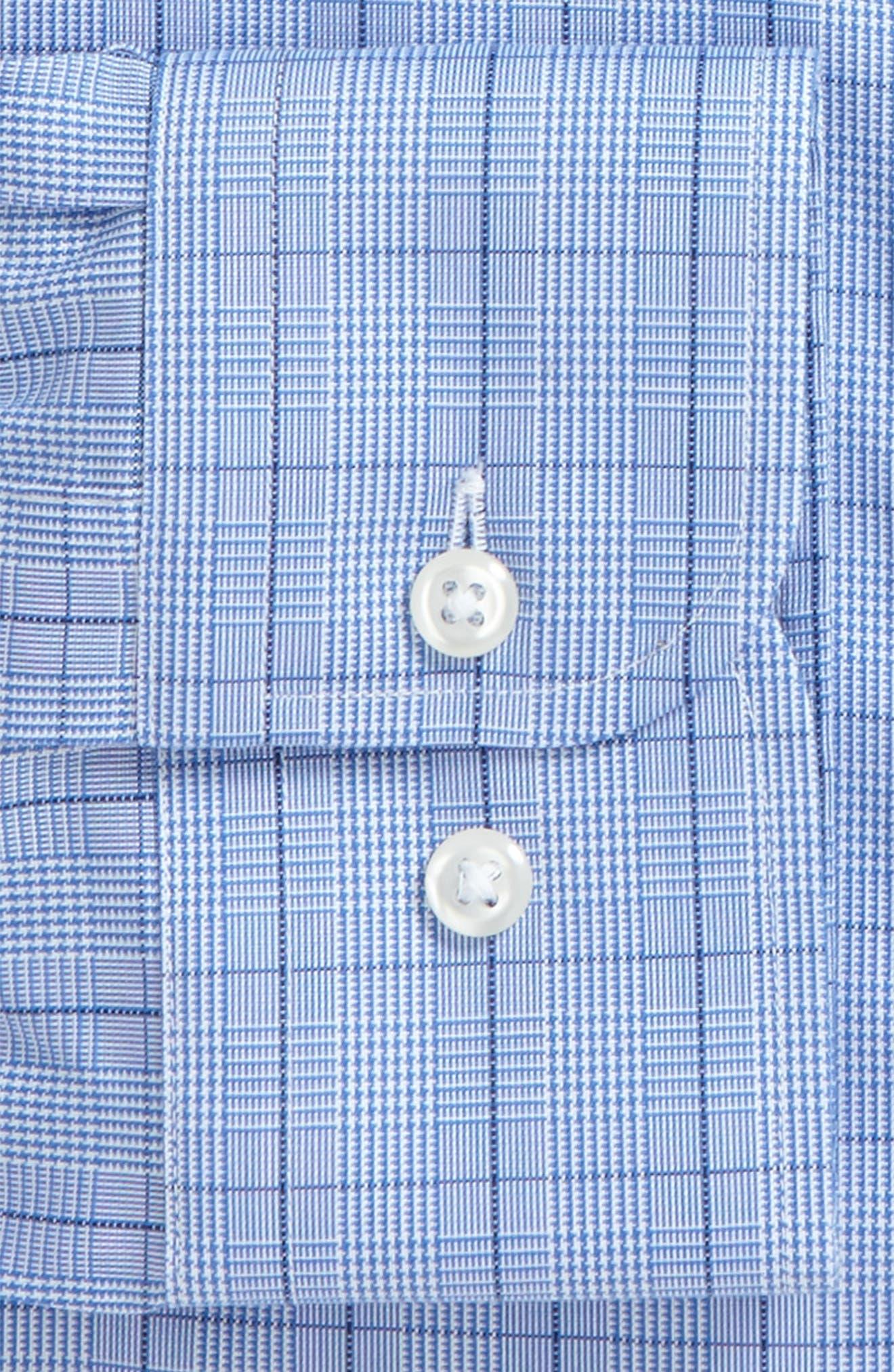Alternate Image 6  - Nordstrom Men's Shop Smartcare™ Traditional Fit Windowpane Dress Shirt