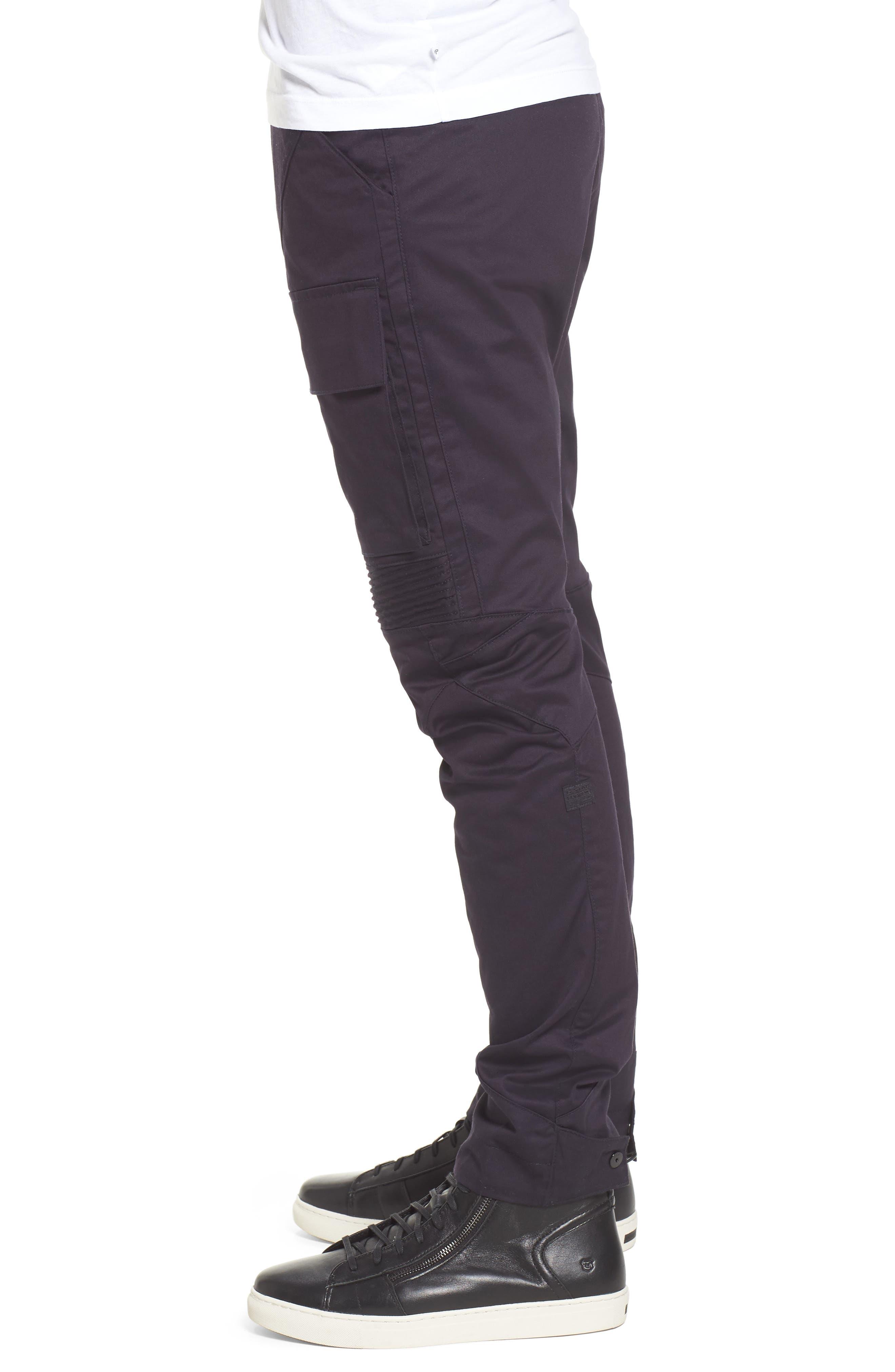 Vodan DC Slim Pants,                             Alternate thumbnail 3, color,                             Dark Naval Blue
