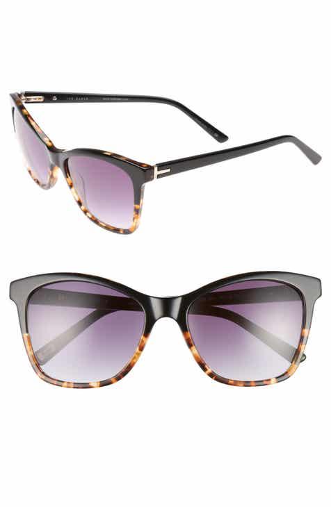 cd0e5d9250365e Ted Baker London 55mm Cat Eye Sunglasses