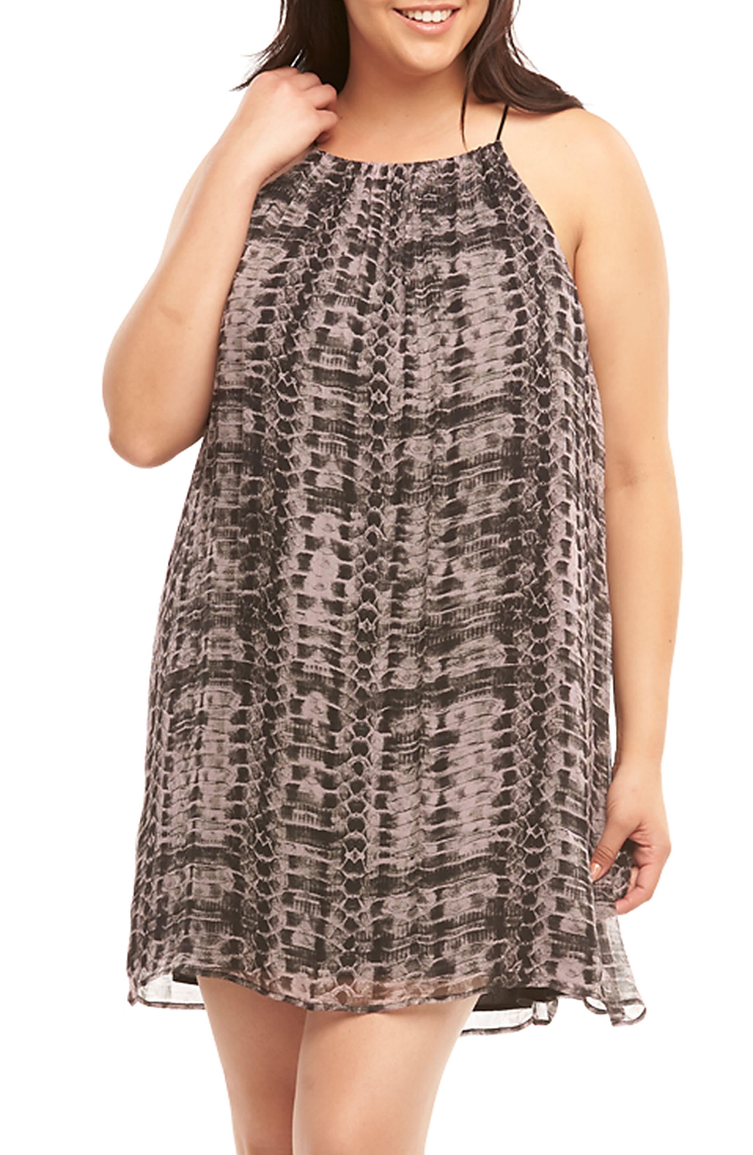 Alternate Image 4  - Tart Ellie Sleeveless Shift Dress (Plus Size)