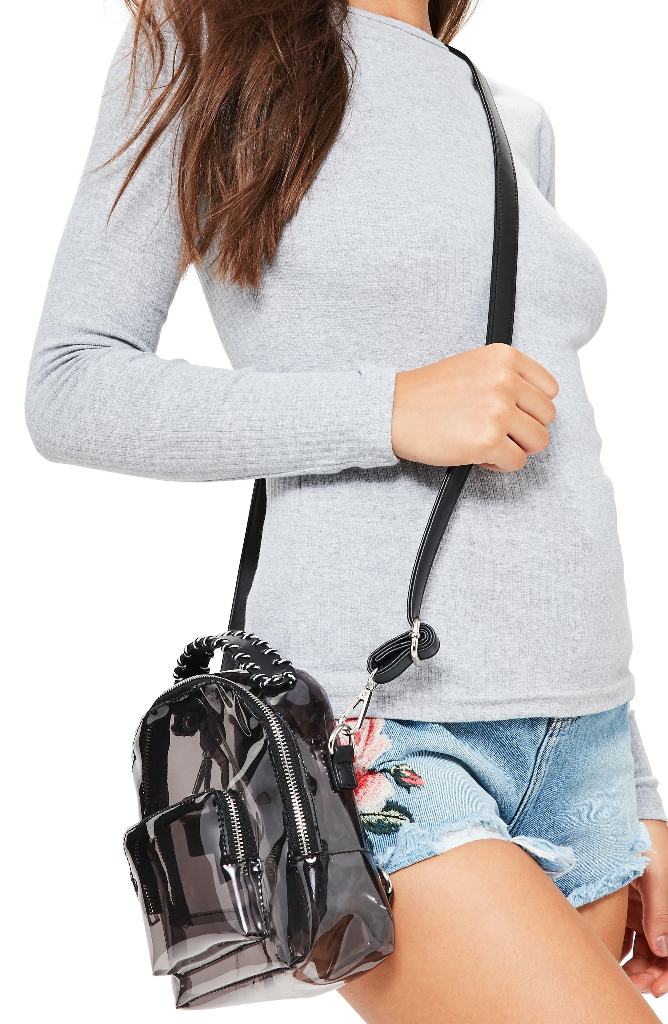 Perspex<sup>®</sup> Mini Backpack,                             Main thumbnail 1, color,                             Black