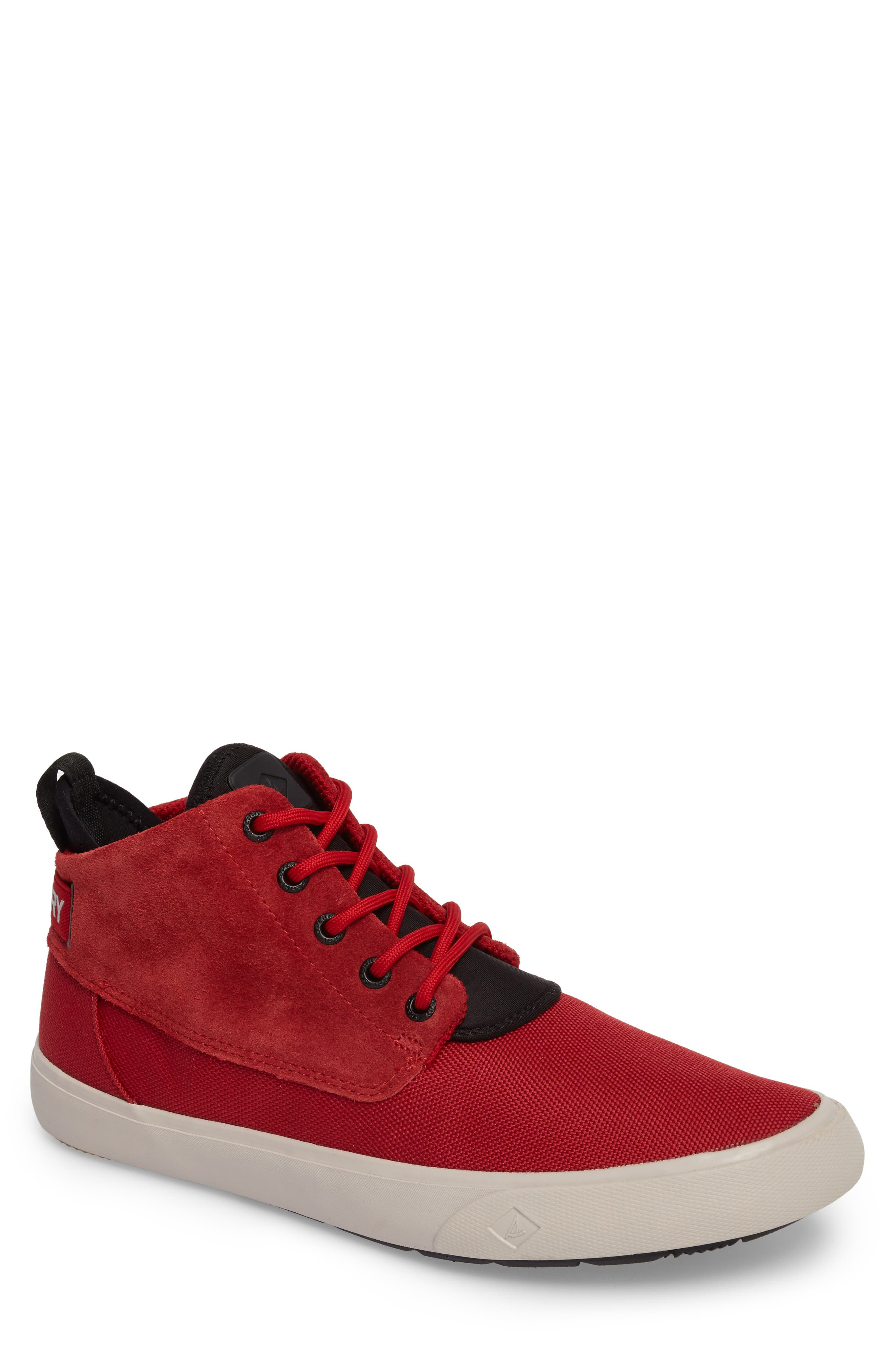 Cutwater Sneaker,                             Main thumbnail 1, color,                             Red