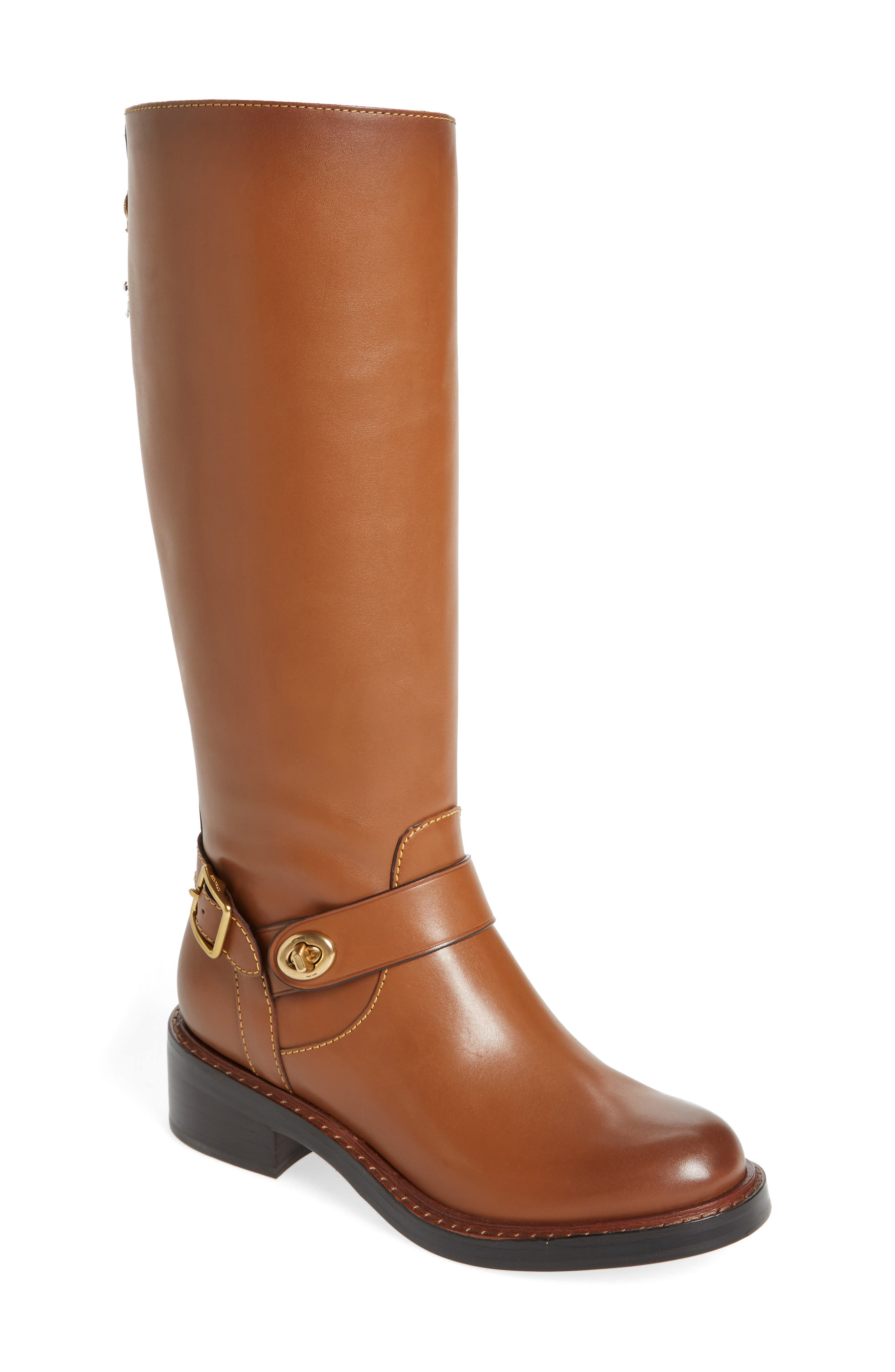 Alternate Image 1 Selected - COACH Sutton Riding Boot (Women)