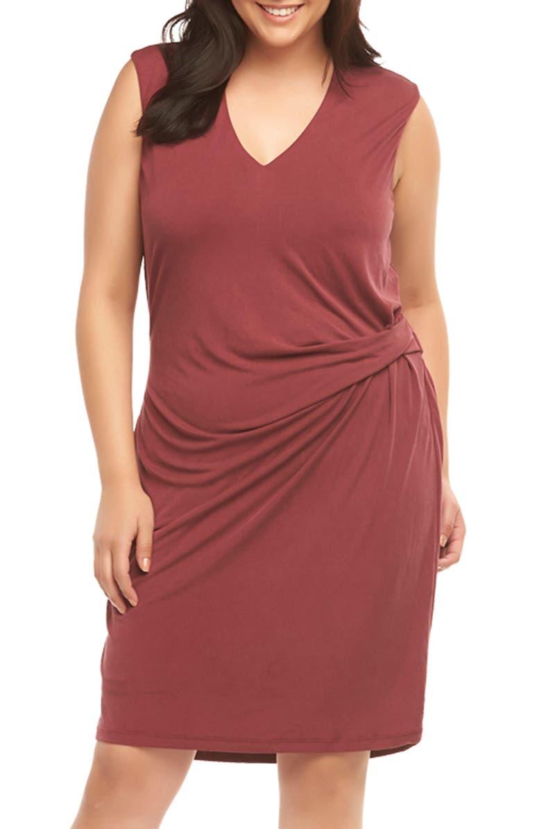 Annetta Ruched Sheath Dress