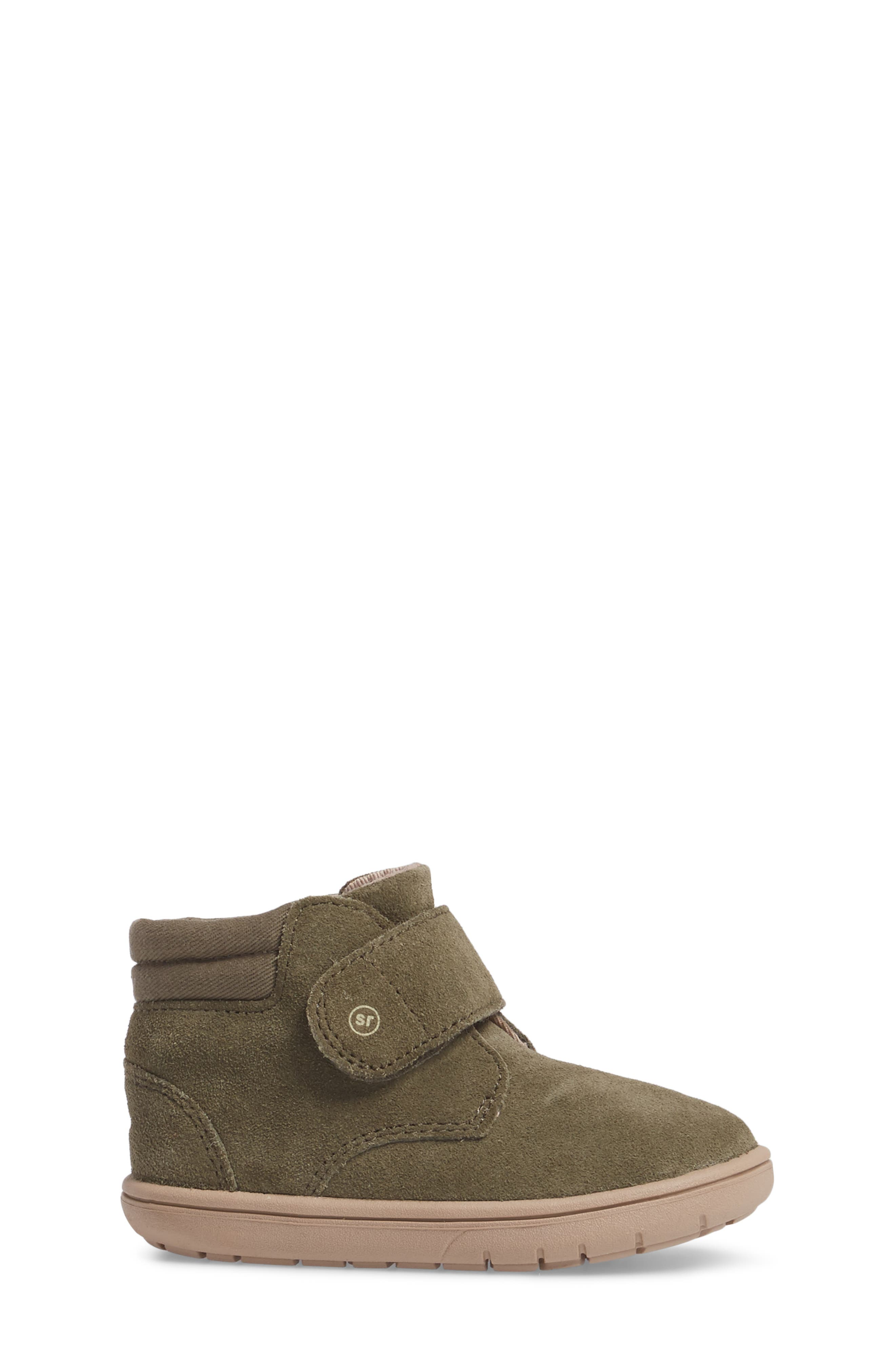SRtech<sup>™</sup> Lincoln Bootie,                             Alternate thumbnail 3, color,                             Dark Green Suede