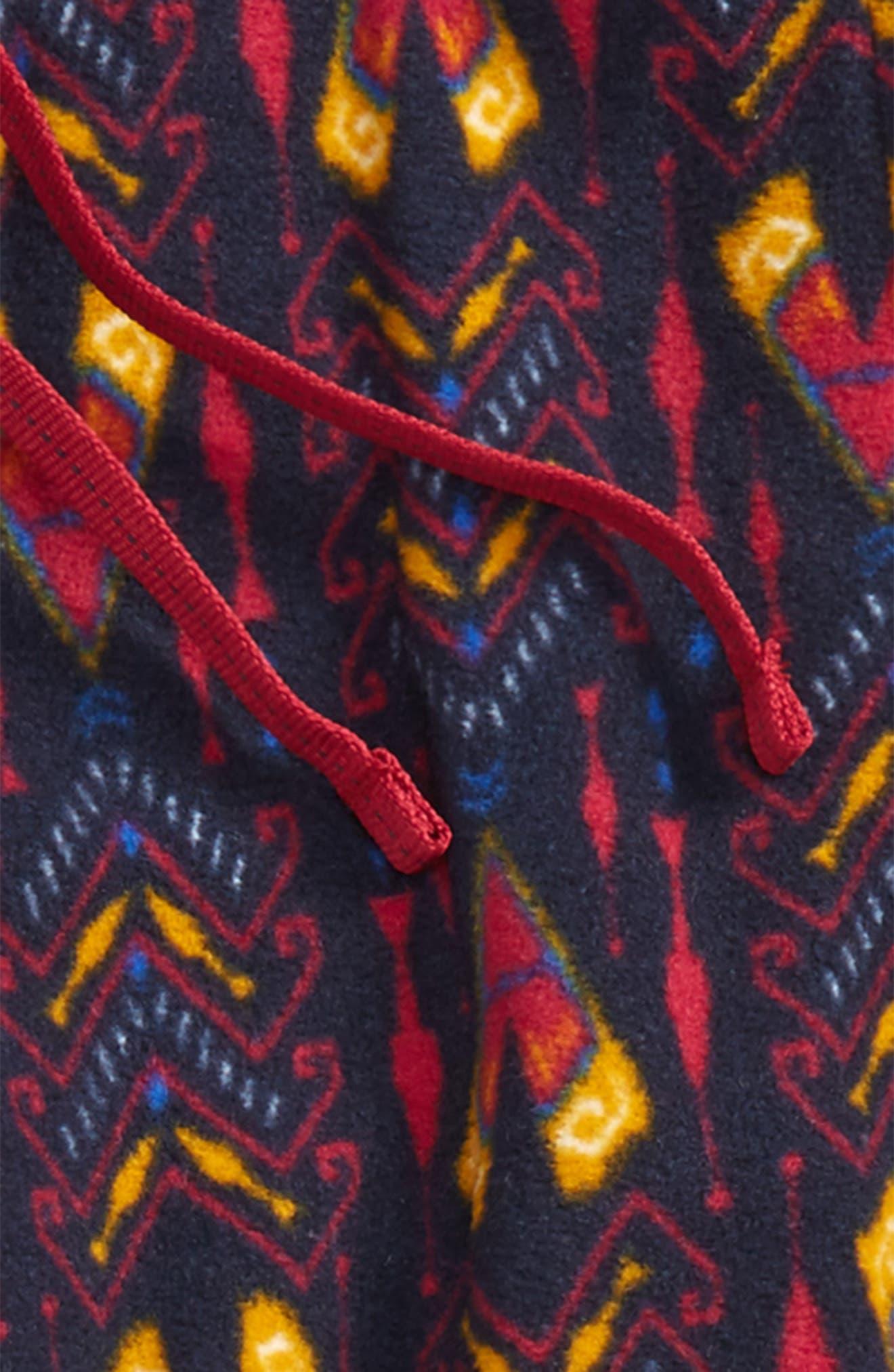 Alternate Image 3  - Patagonia Micro D® Fleece Pants (Little Girls & Big Girls)