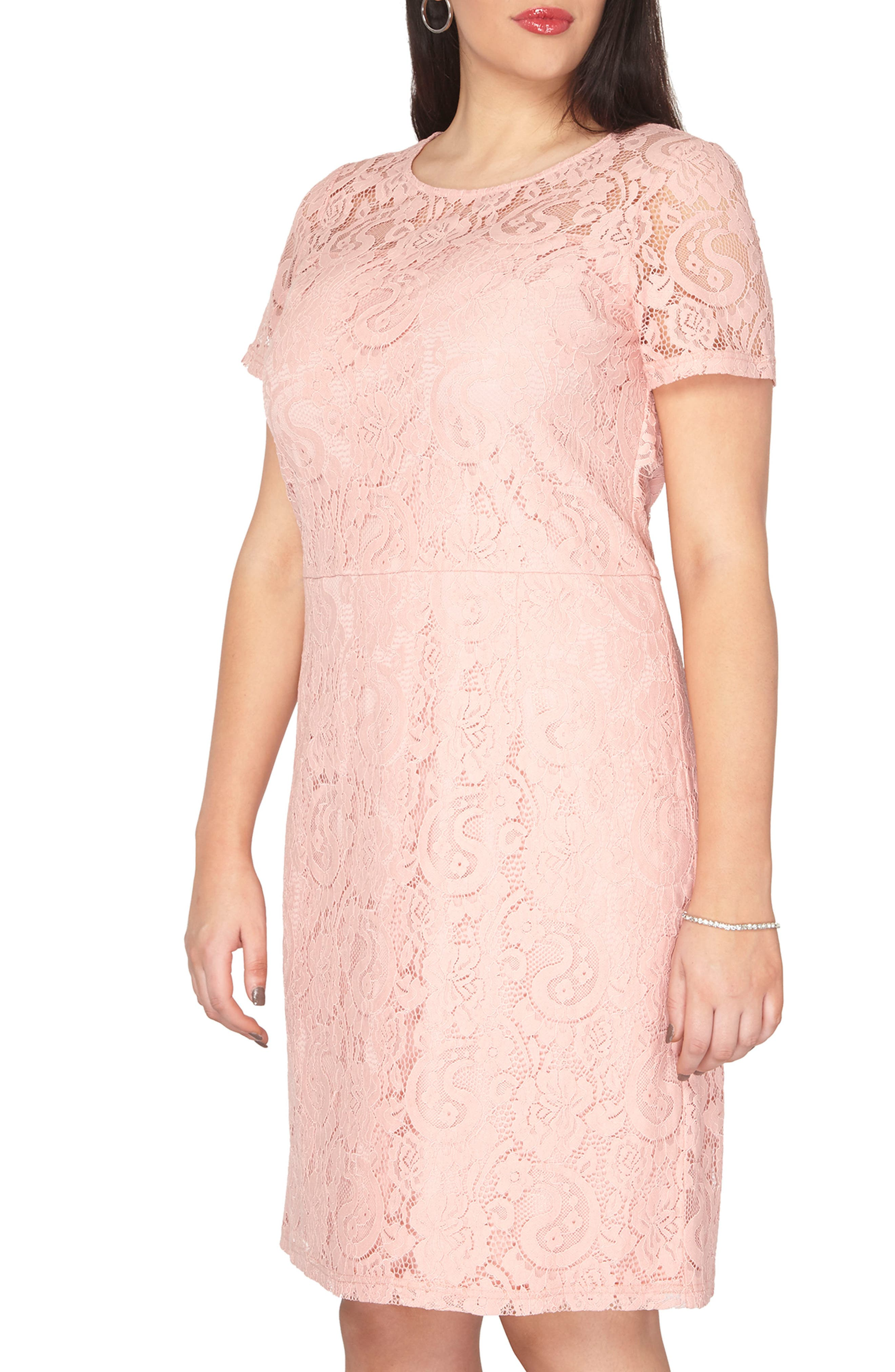 Dorothy Perkins Lace Sheath Dress (Plus Size)