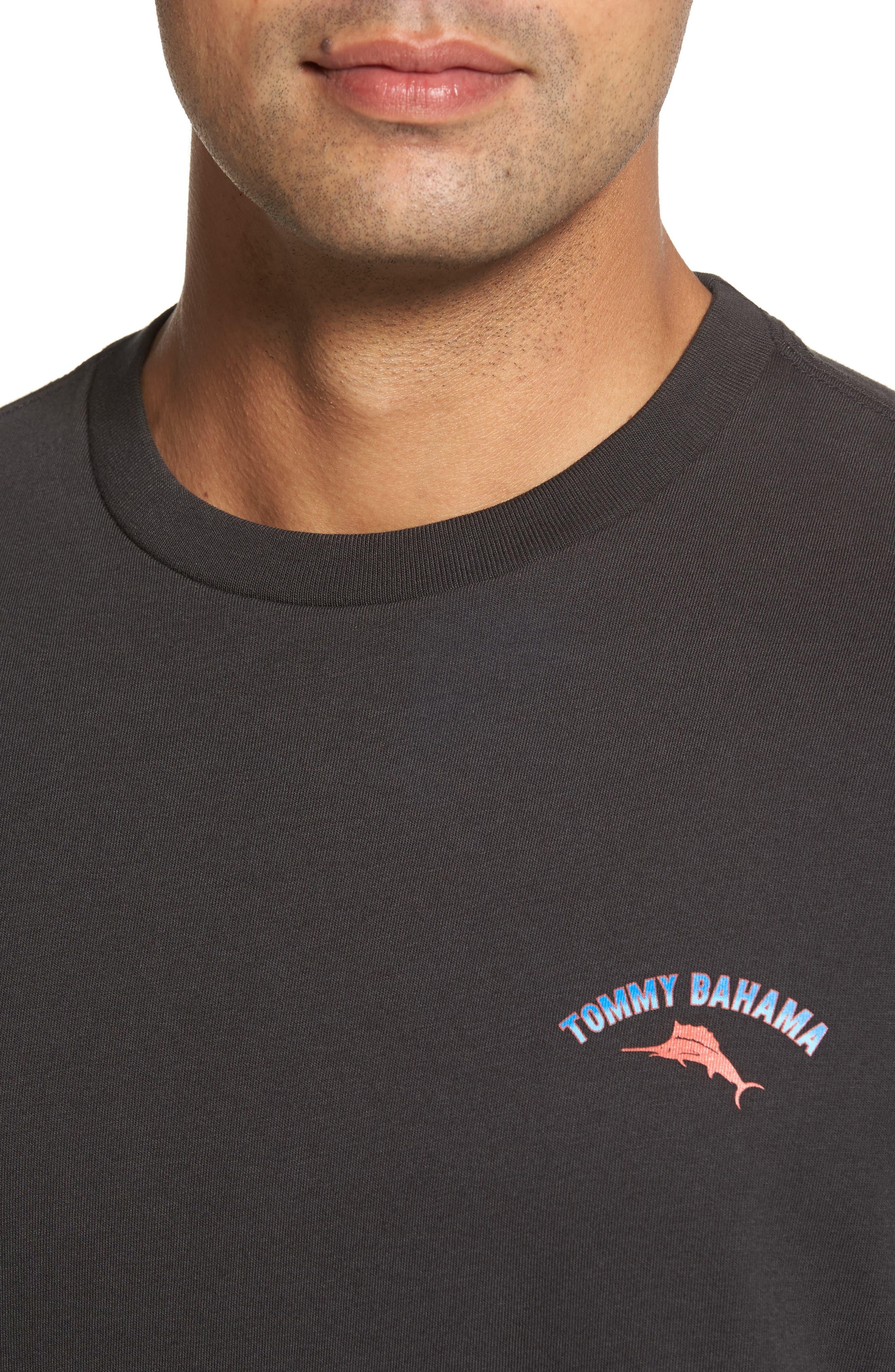 Alternate Image 4  - Tommy Bahama Outside Limebacker T-Shirt