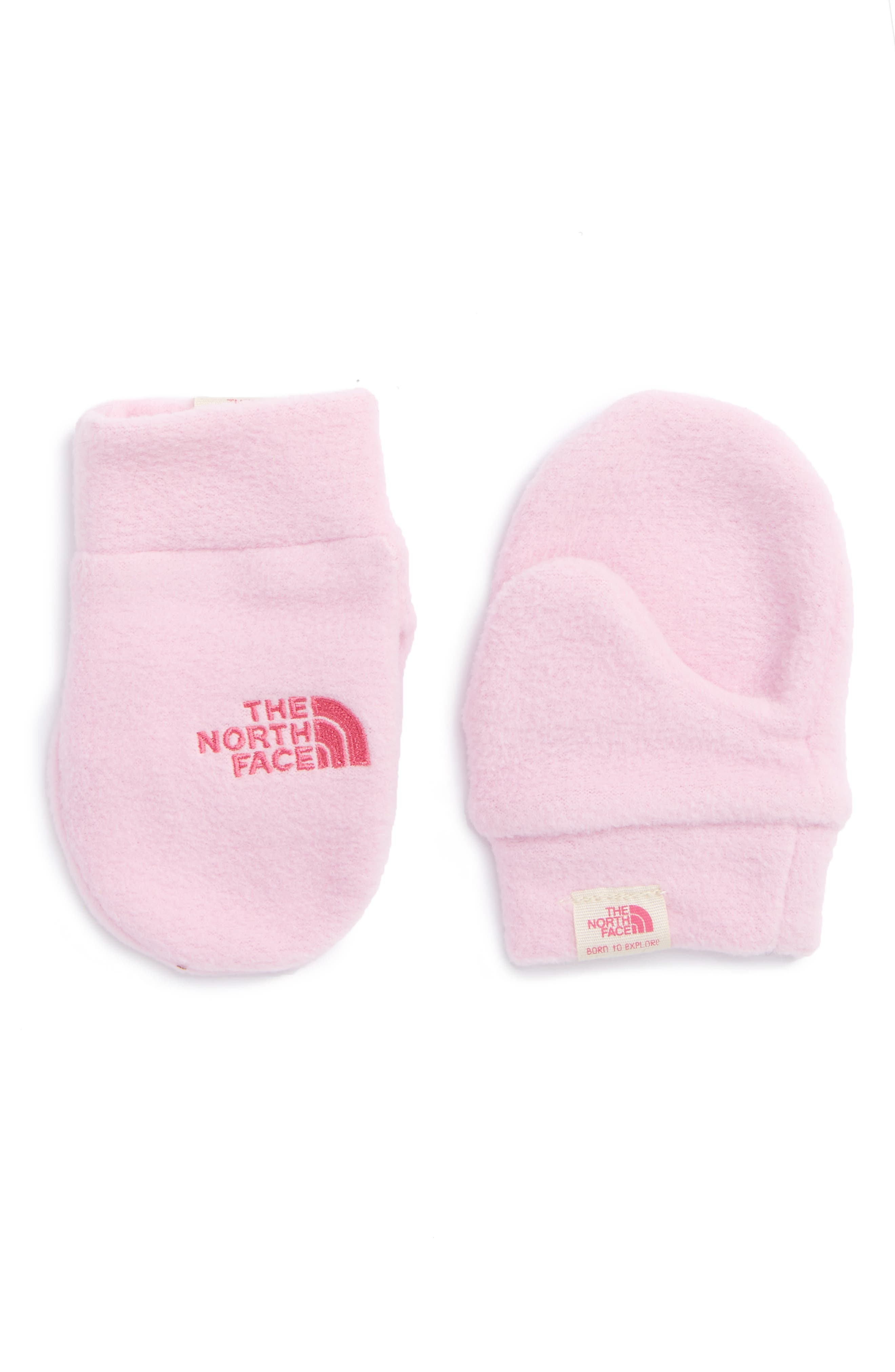 The North Face 'Nugget' Fleece Mittens (Baby)