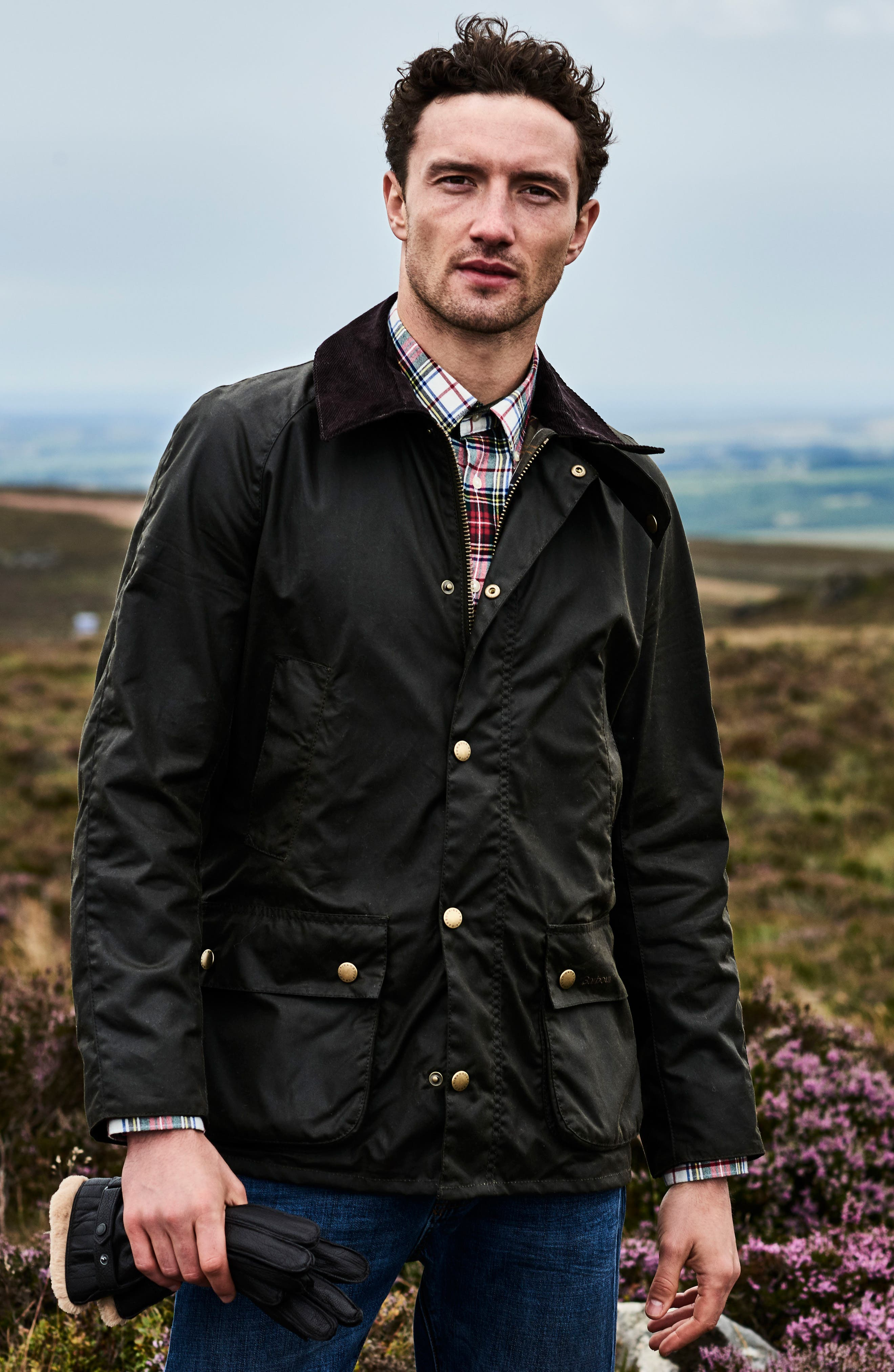 Alternate Image 8  - Barbour 'Ashby' Regular Fit Waterproof Jacket