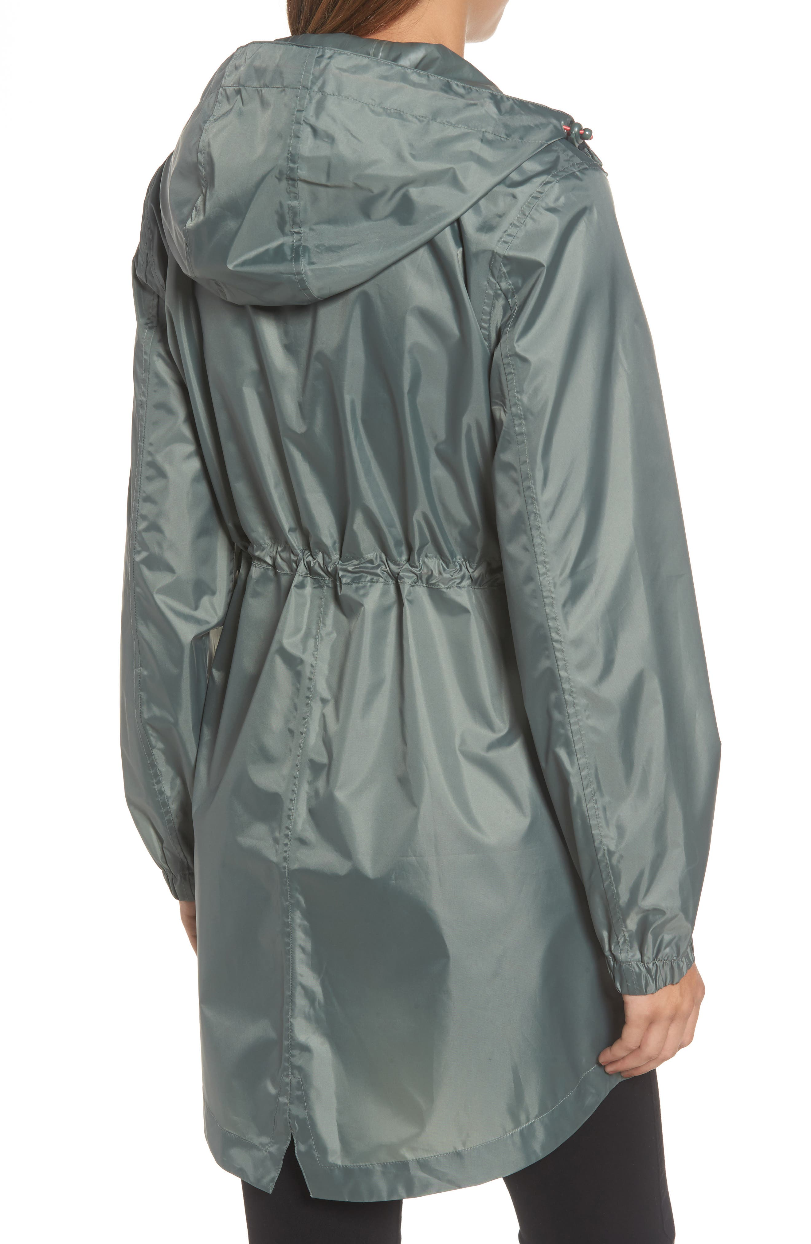 Alternate Image 2  - Joules Right as Rain Packable Hooded Raincoat