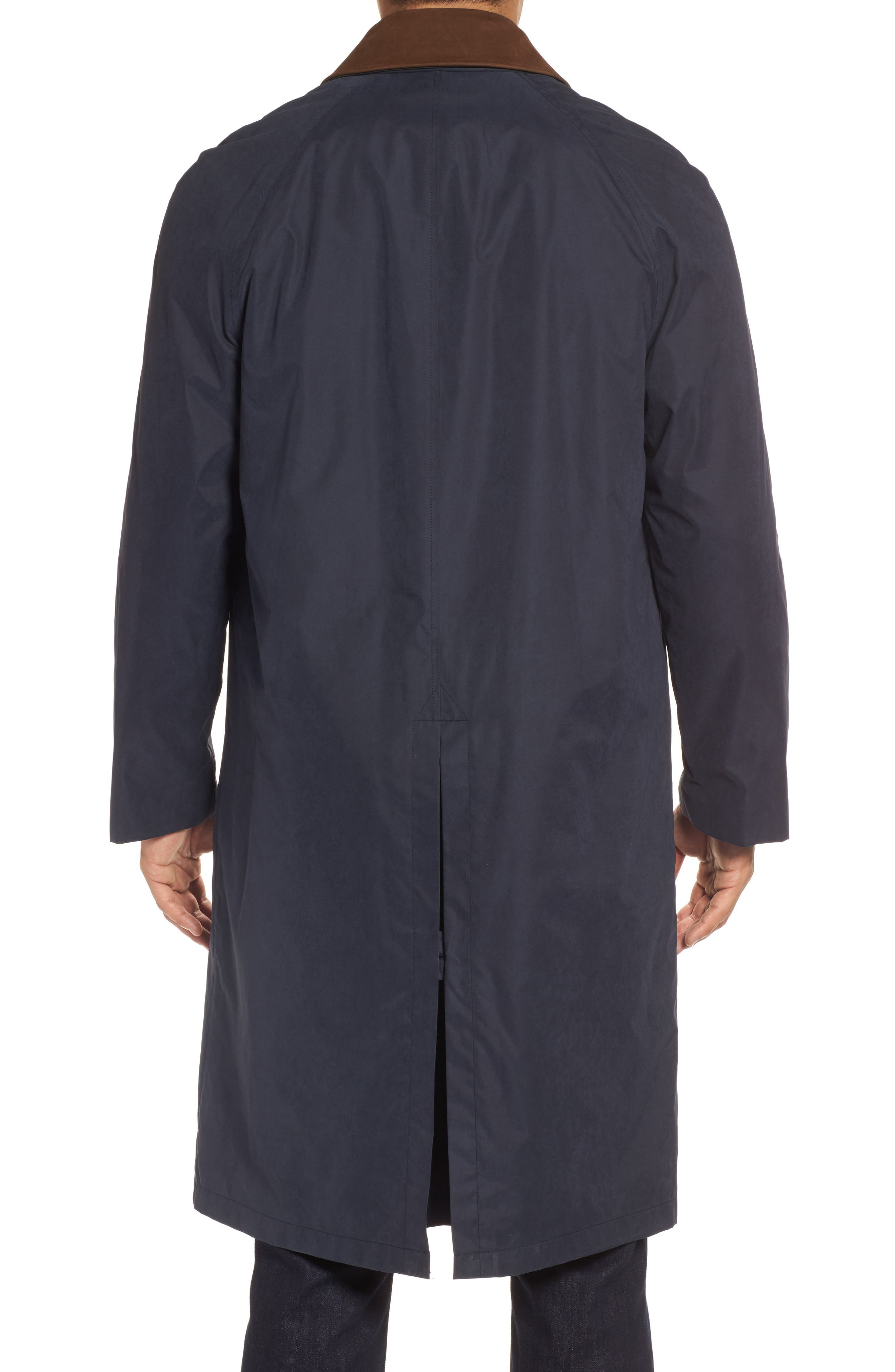 Lawrence Classic Fit Rain Coat,                             Alternate thumbnail 2, color,                             Navy