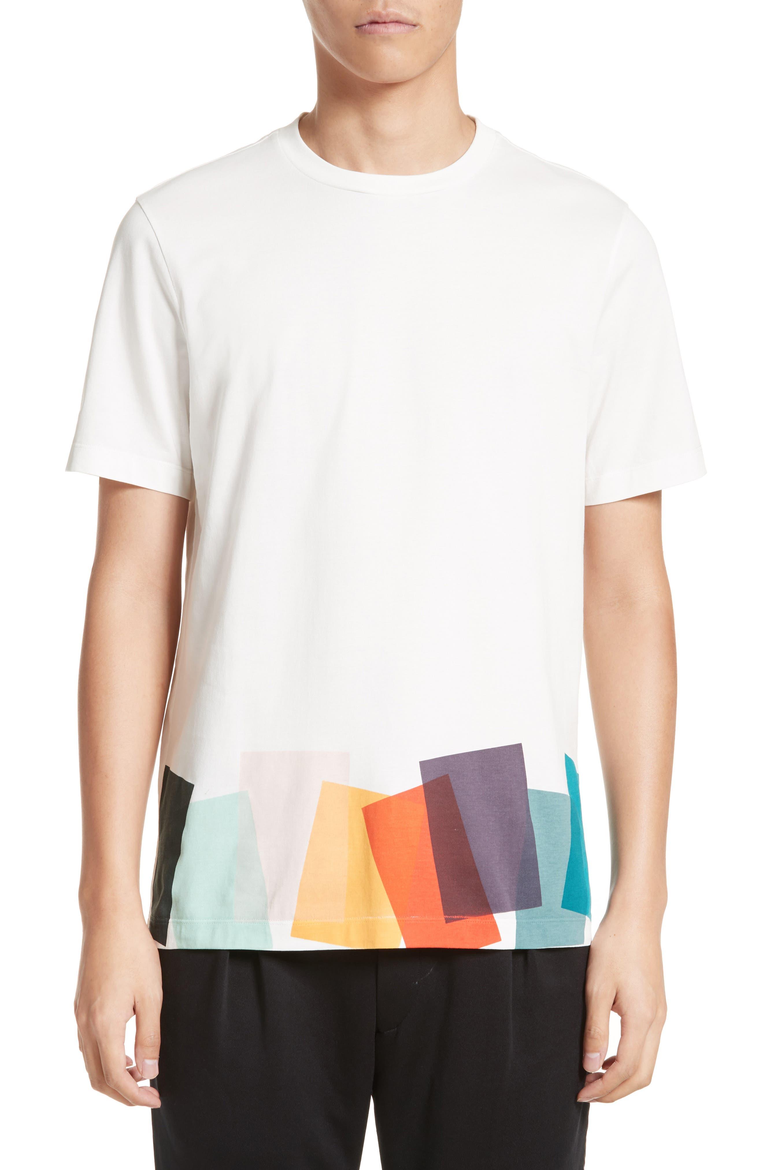 Alternate Image 1 Selected - Paul Smith Colorblock Print T-shirt