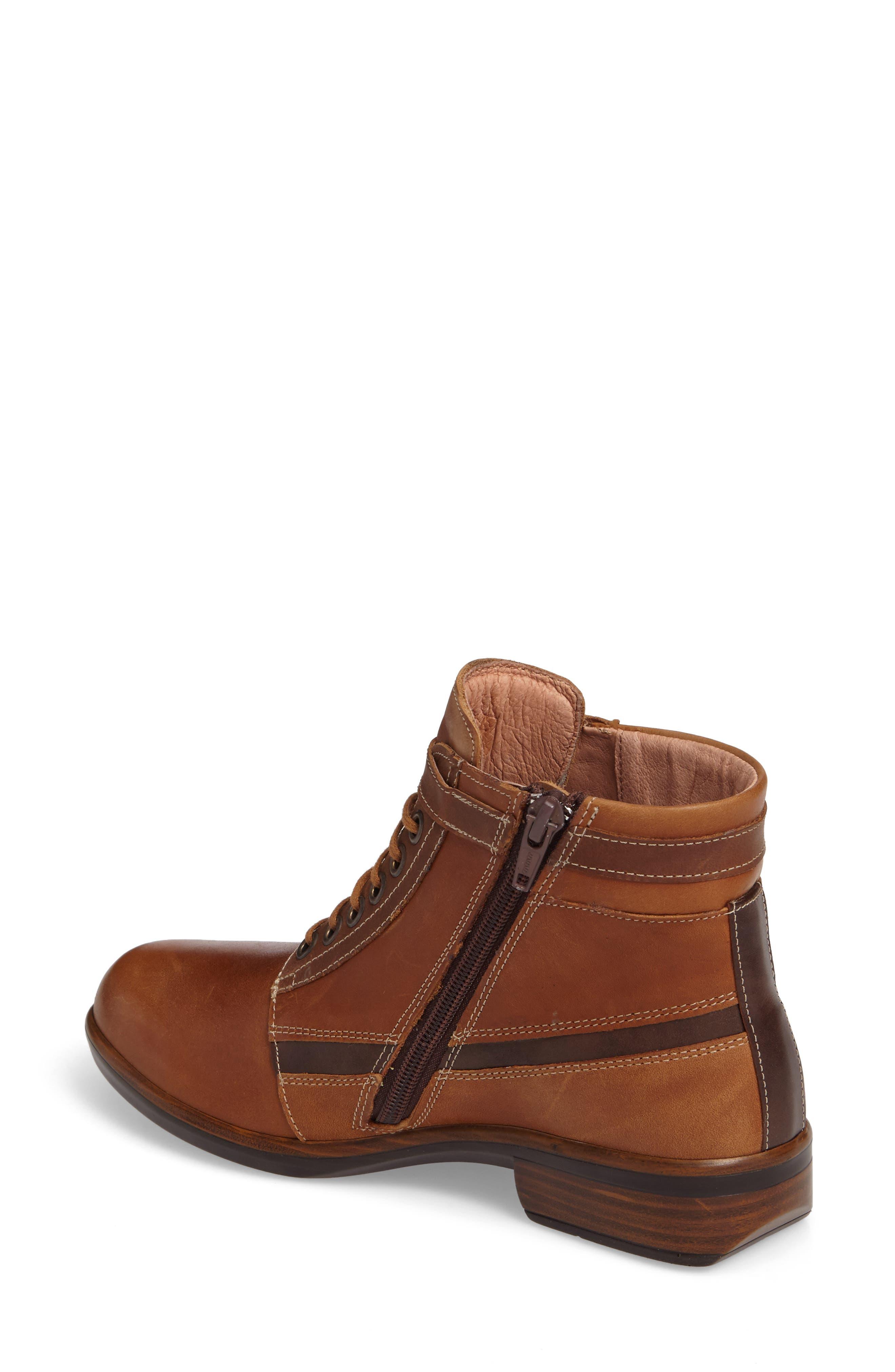 Kona Boot,                             Alternate thumbnail 2, color,                             Vintage Camel Leather