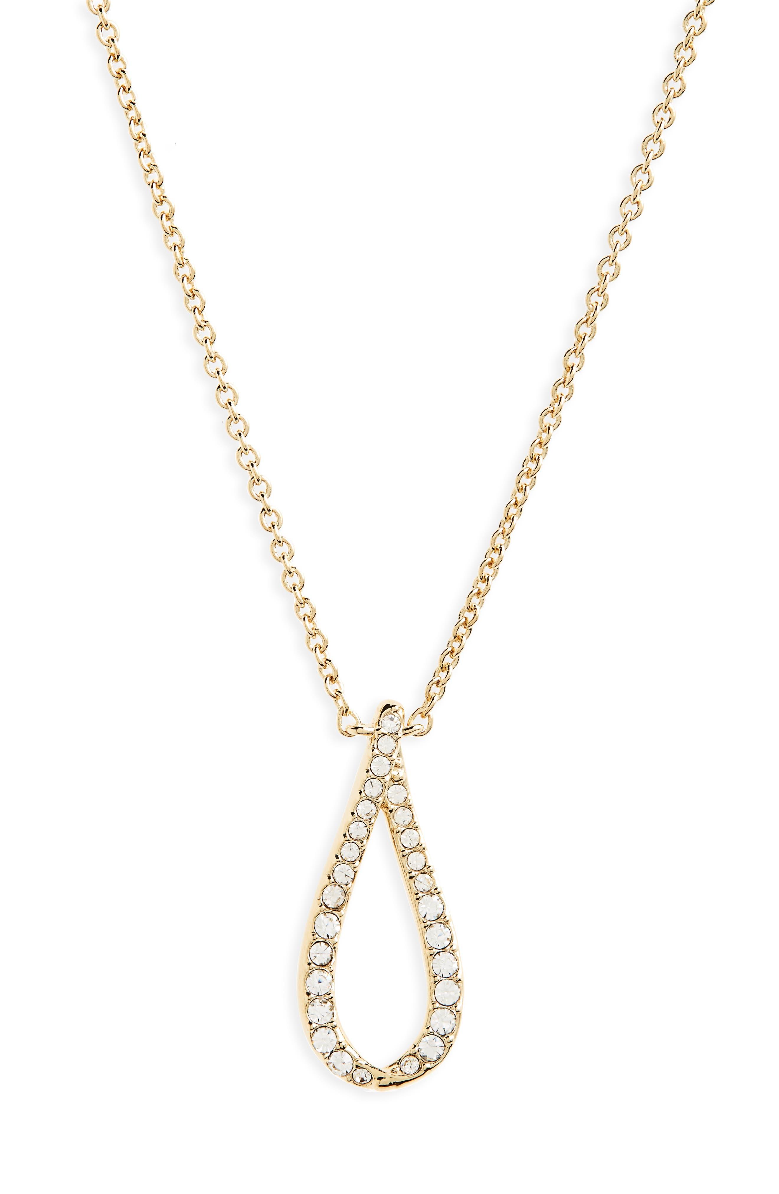 Citron Pendant Necklace,                             Main thumbnail 1, color,                             Gold