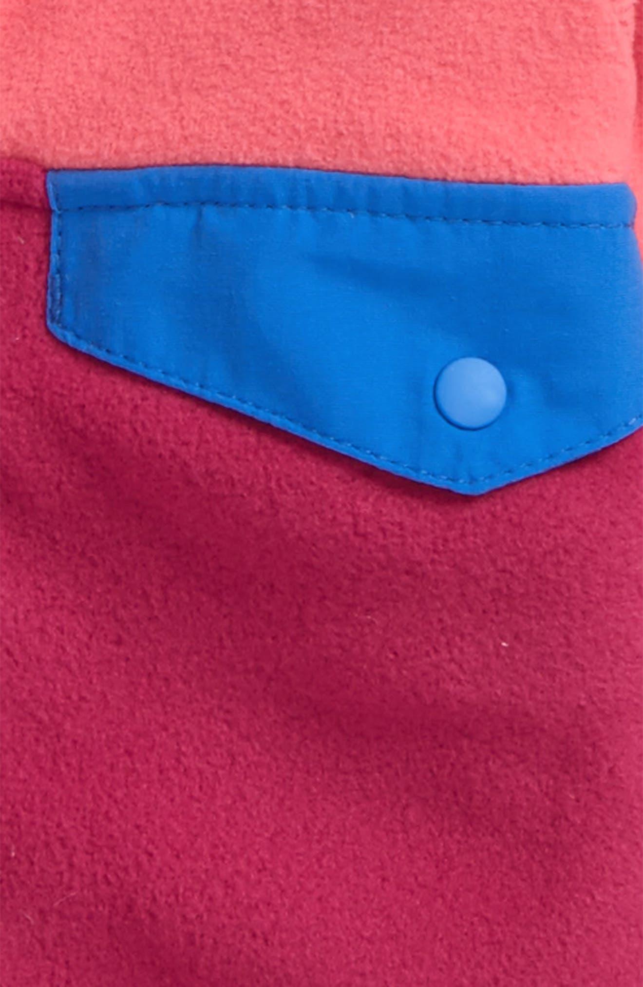 Alternate Image 2  - Patagonia Micro D® Snap-T® Fleece Jacket (Baby Girls)