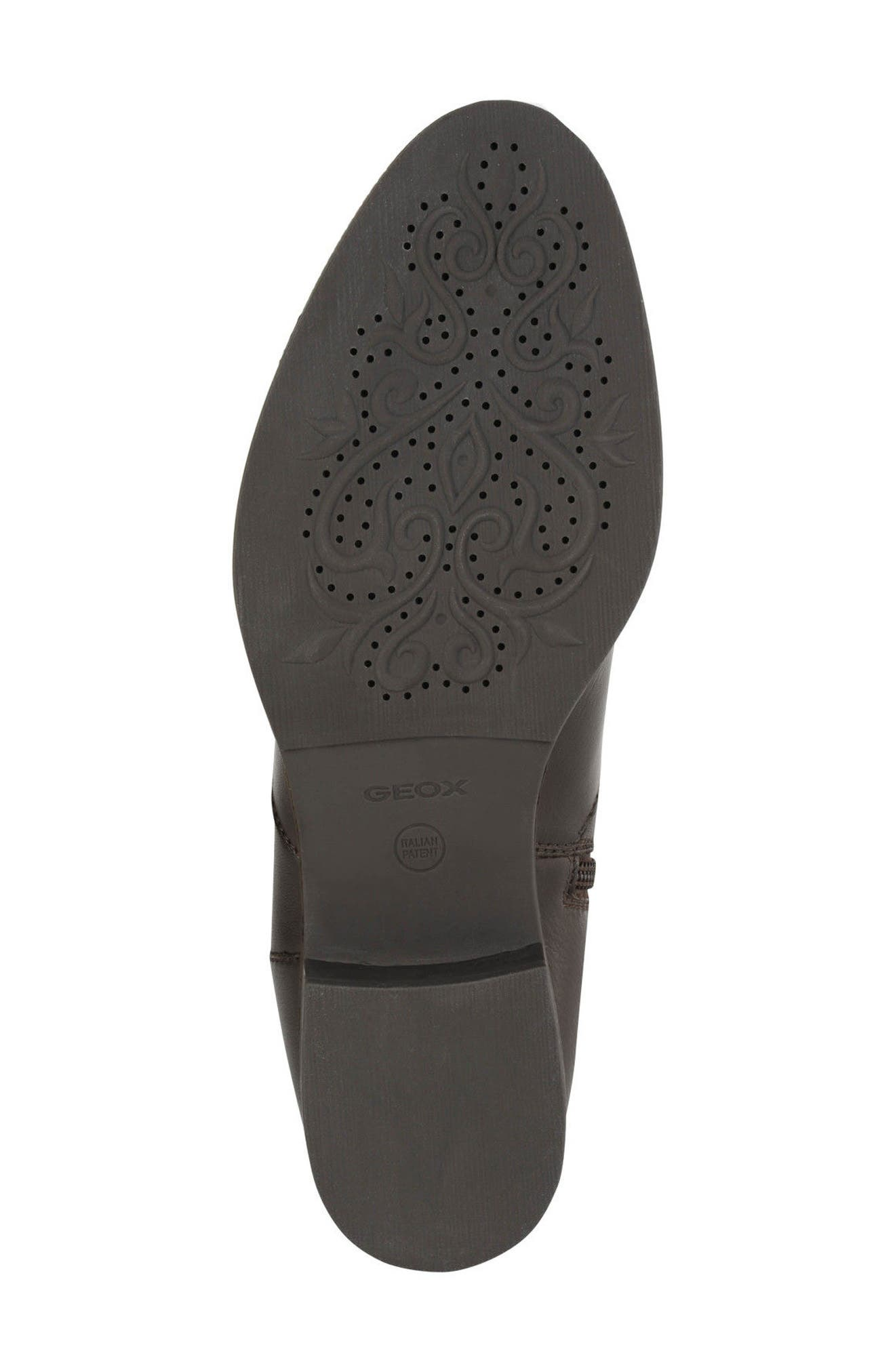 Mendi Tall Boot,                             Alternate thumbnail 5, color,                             Coffee Leather